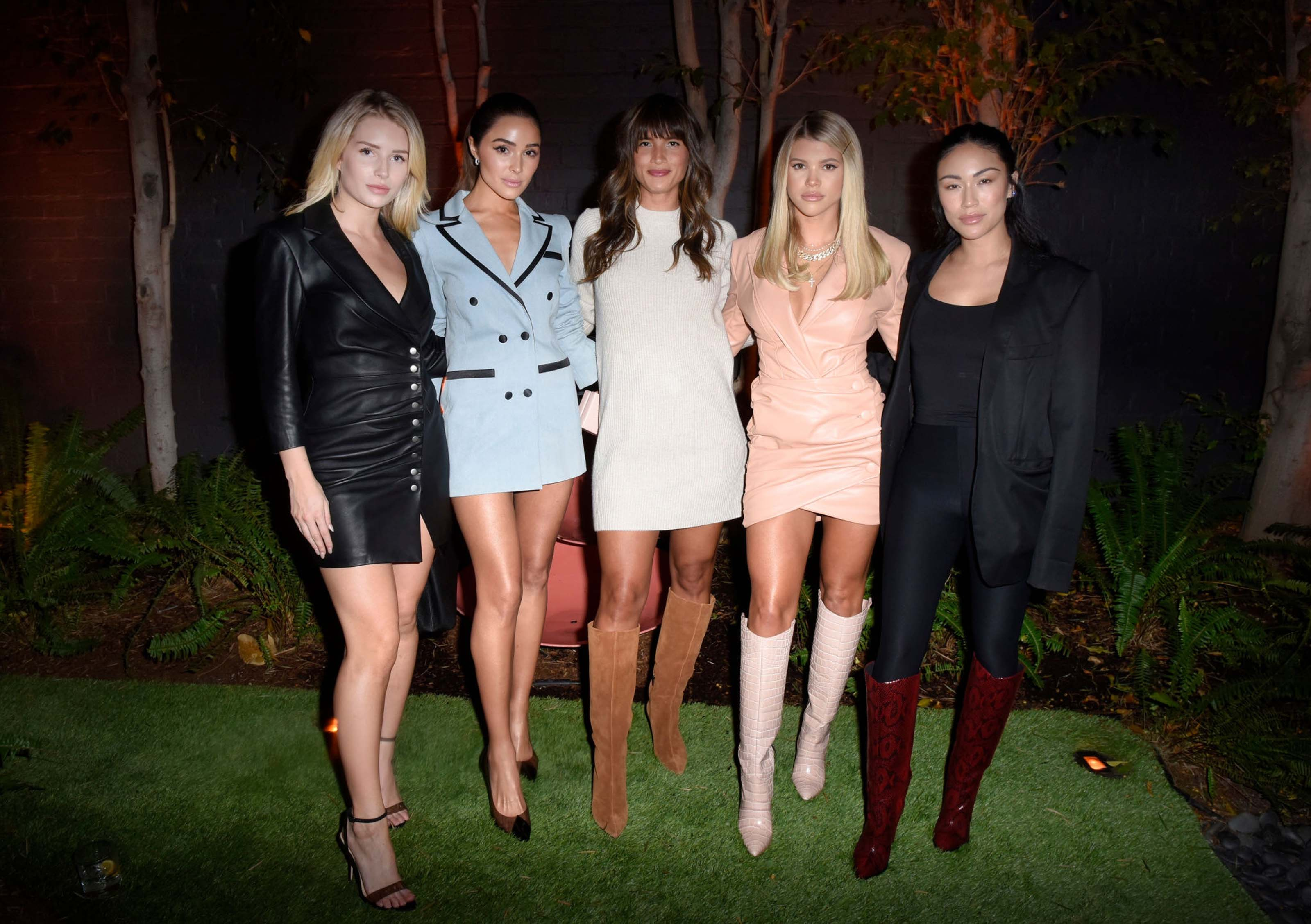 Sofia Richie & Lottie Moss attend Vince Camuto's Sunset Soiree