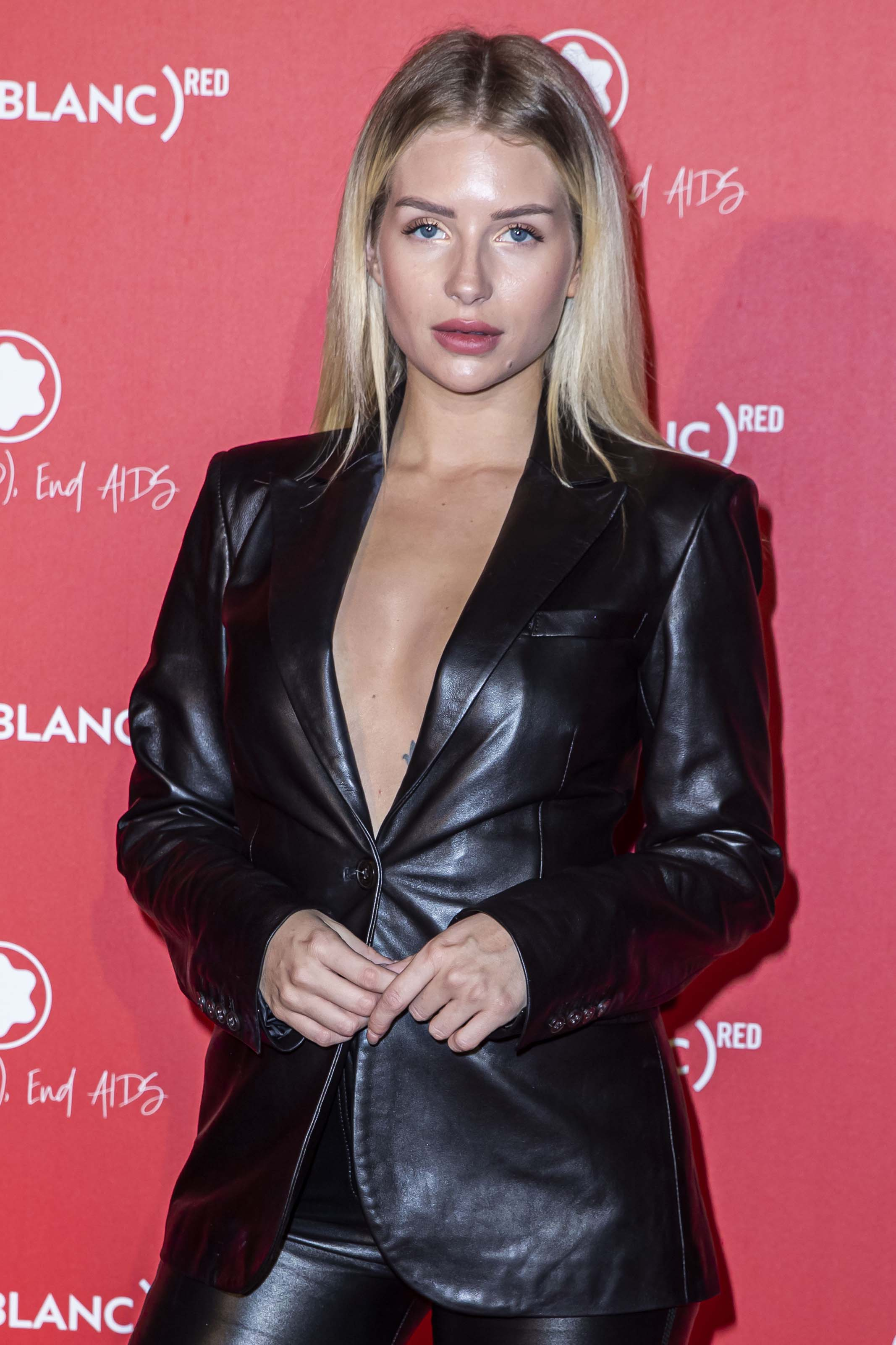 Lottie Moss attends Montblanc Launch Dinner and Party