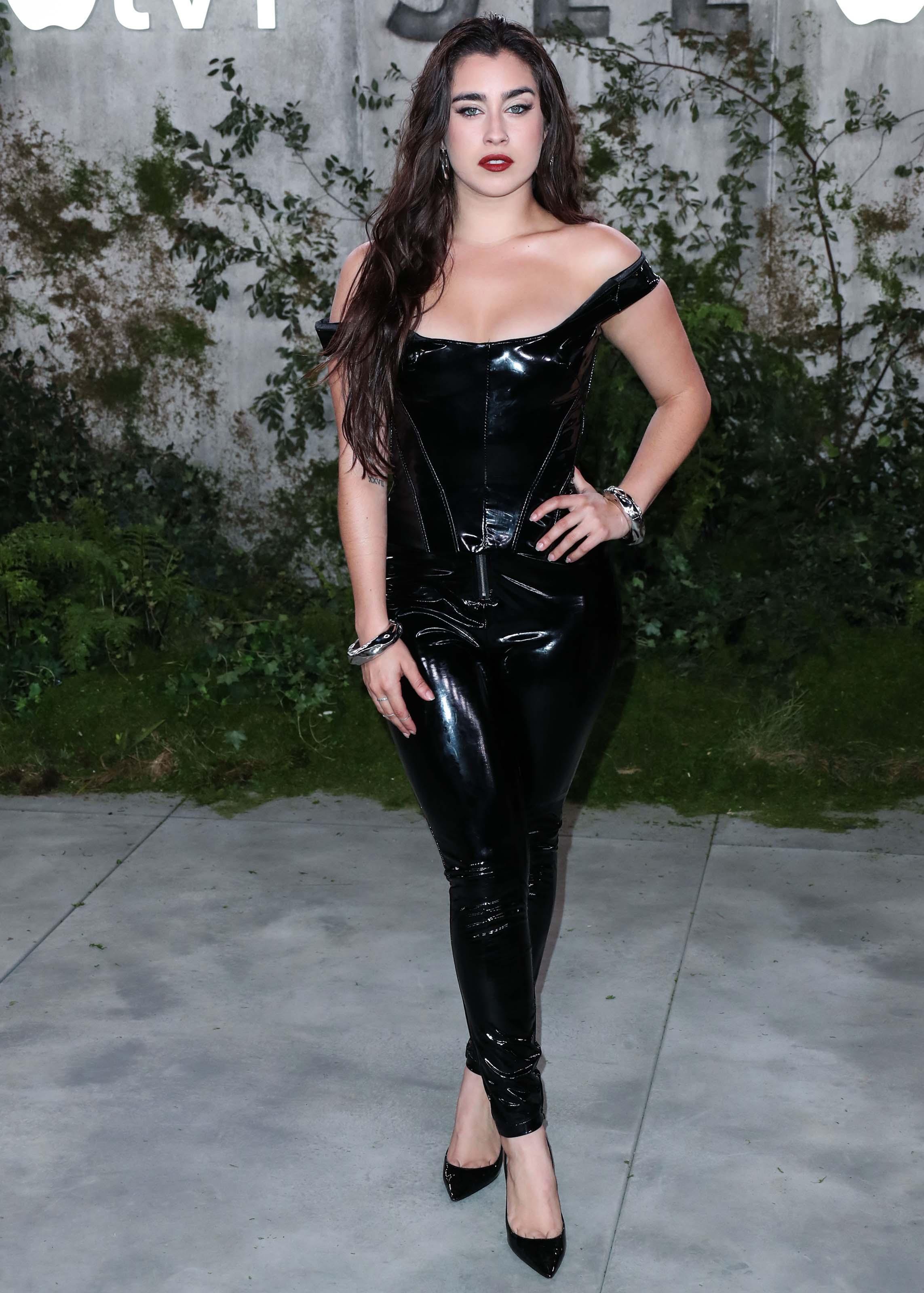 Lauren Jauregui attends See TV show premiere