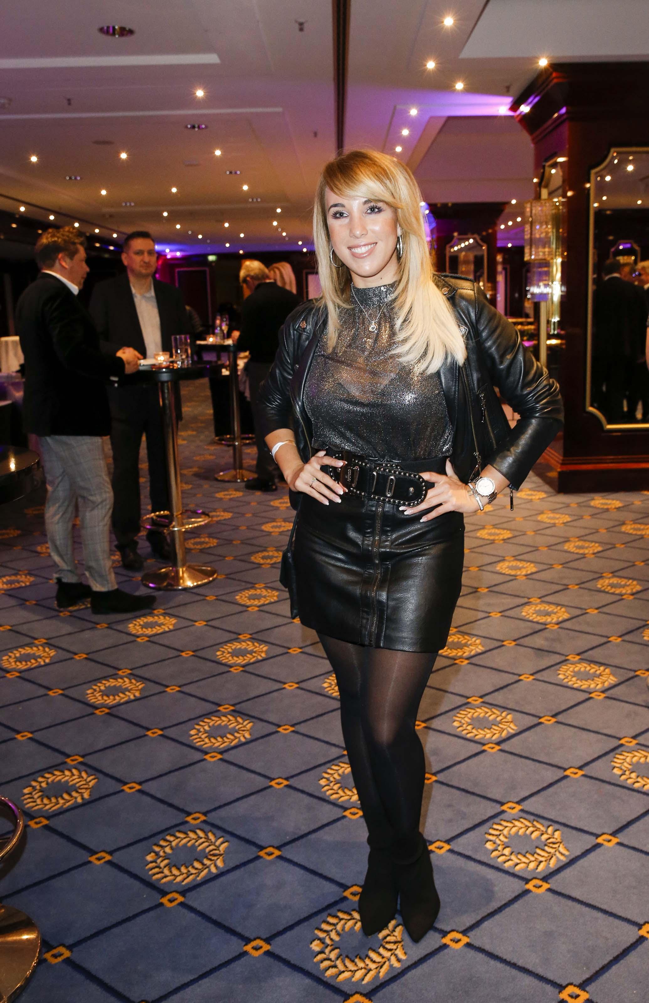 Annemarie Eilfeld attends Petko's Fight Night Maritim Hotel