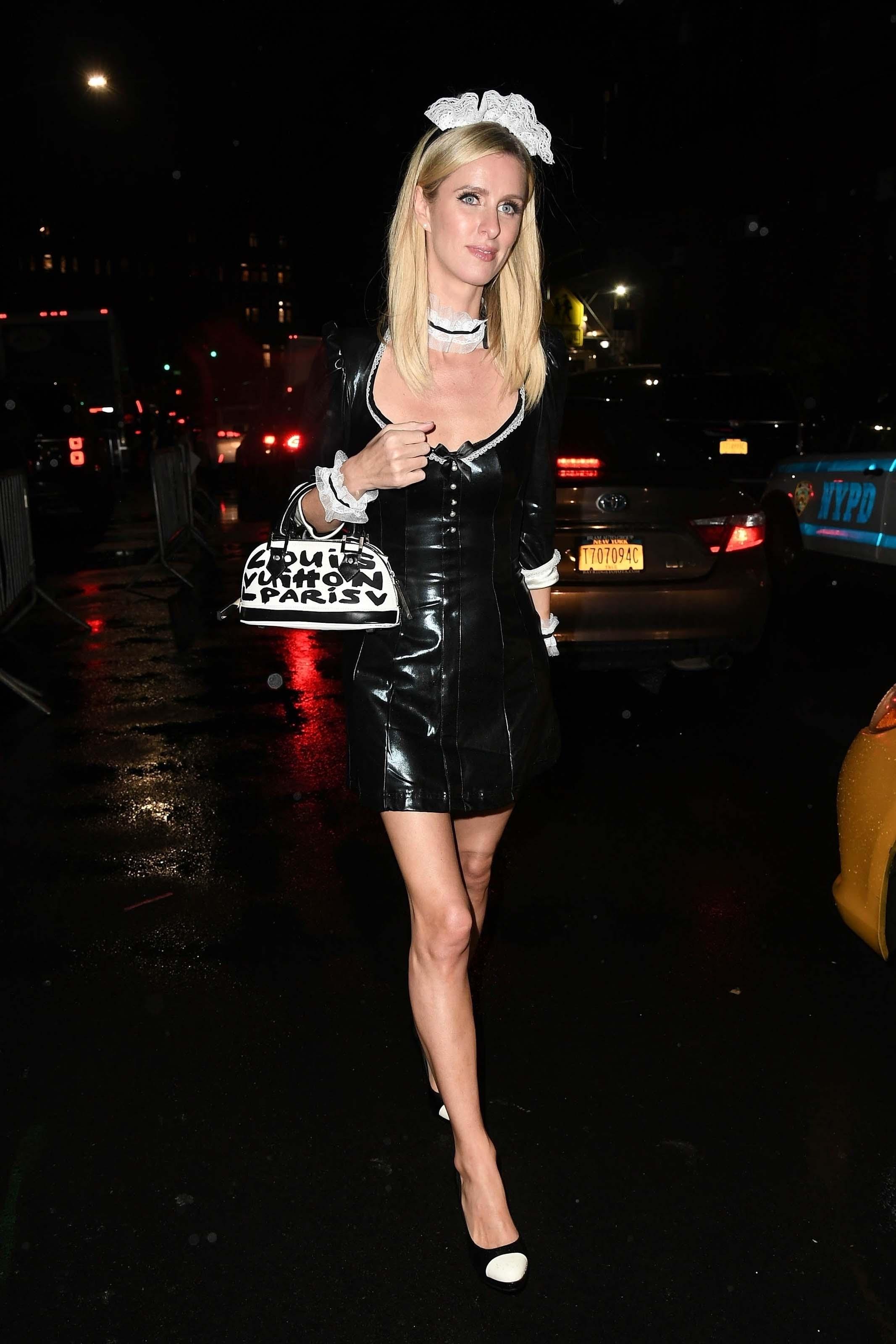Nicky Hilton arrives at Heidi Klum's Halloween Party
