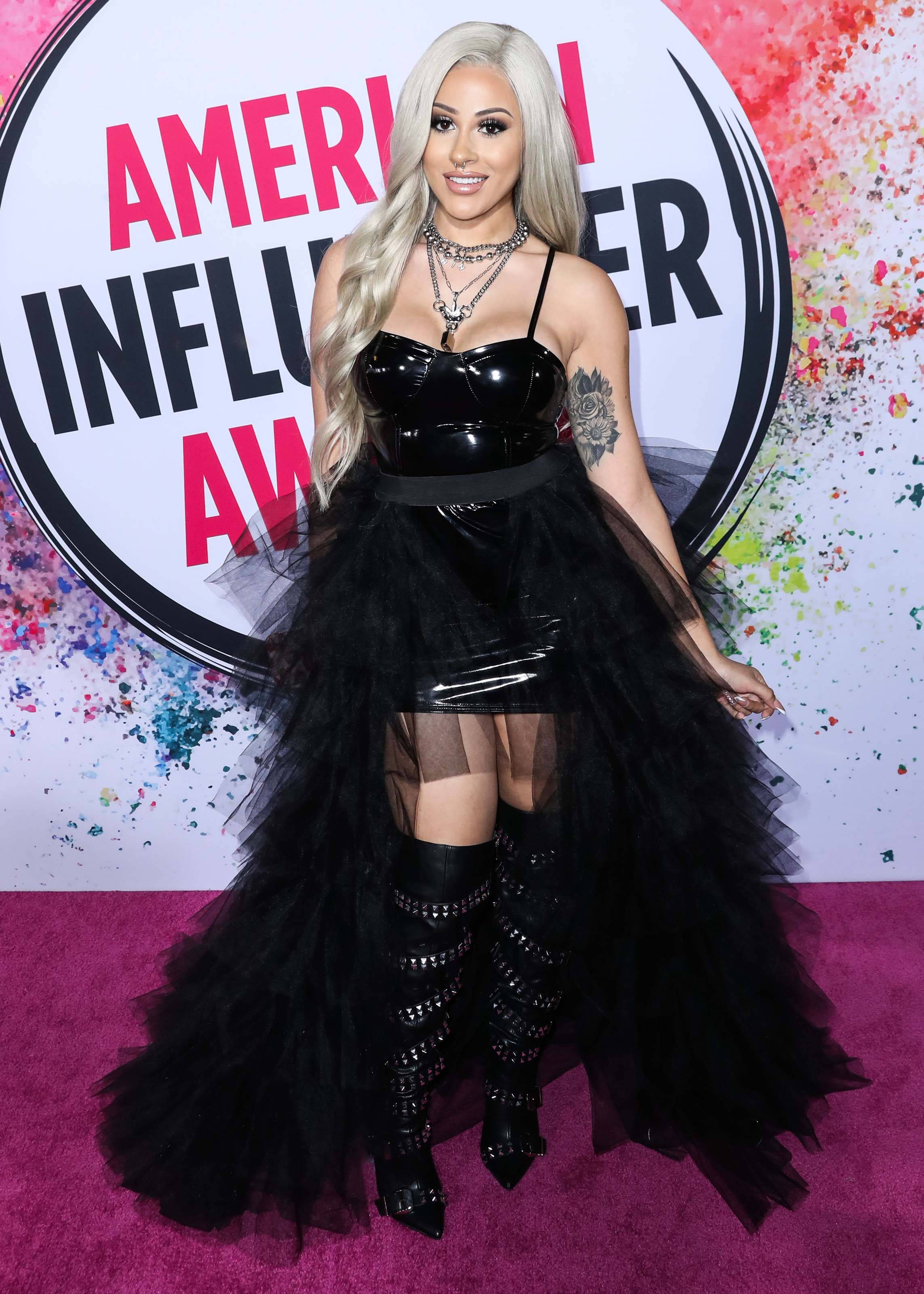 ANNETTE 69 attends American Influencer Awards