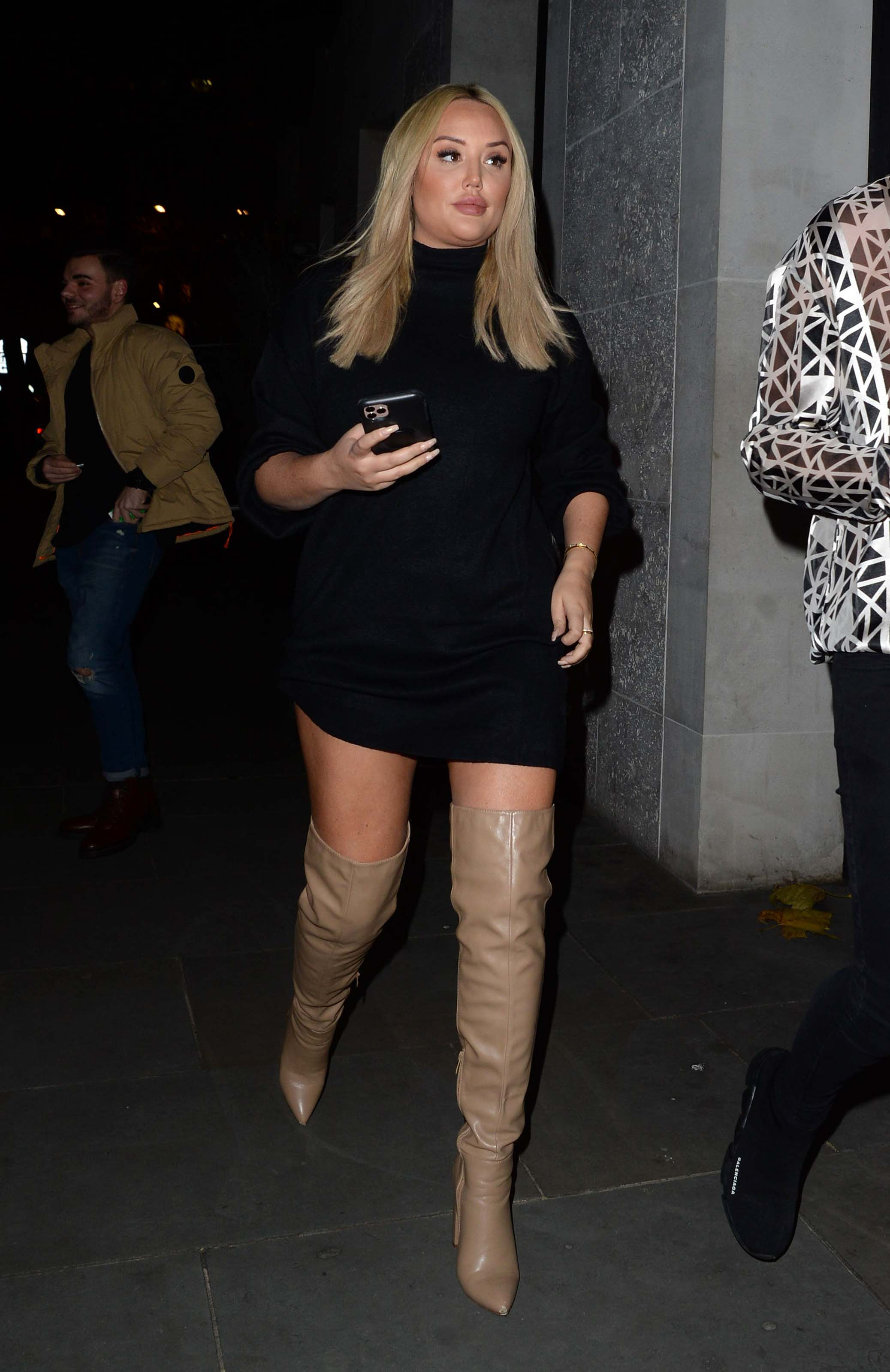 Charlotte Crosby attends InTheStyle Billie Faiers Dinner