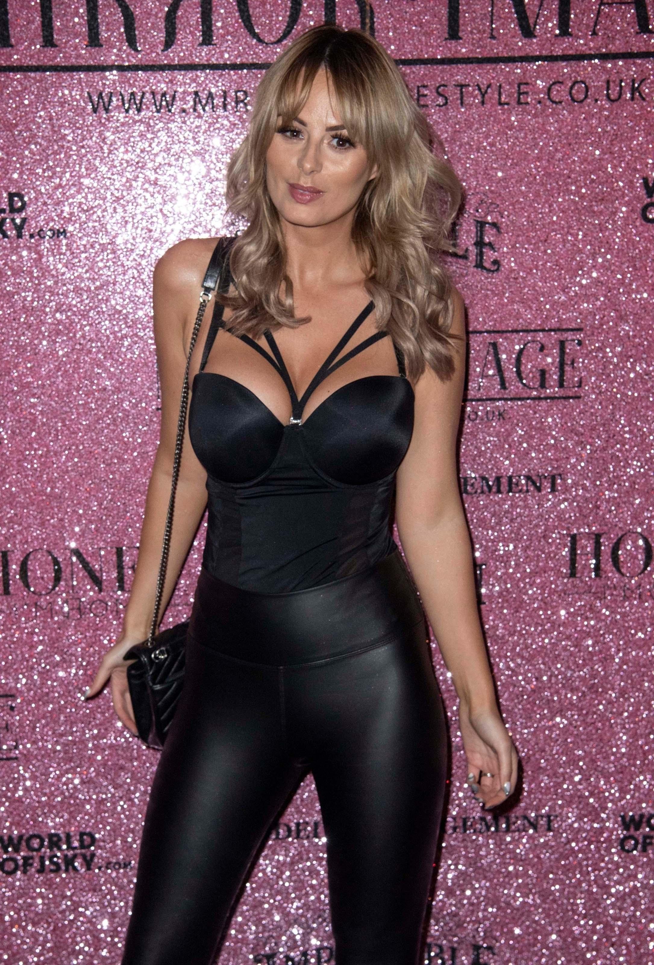 Rhian Sugden attends Mirror Image Fashion Event