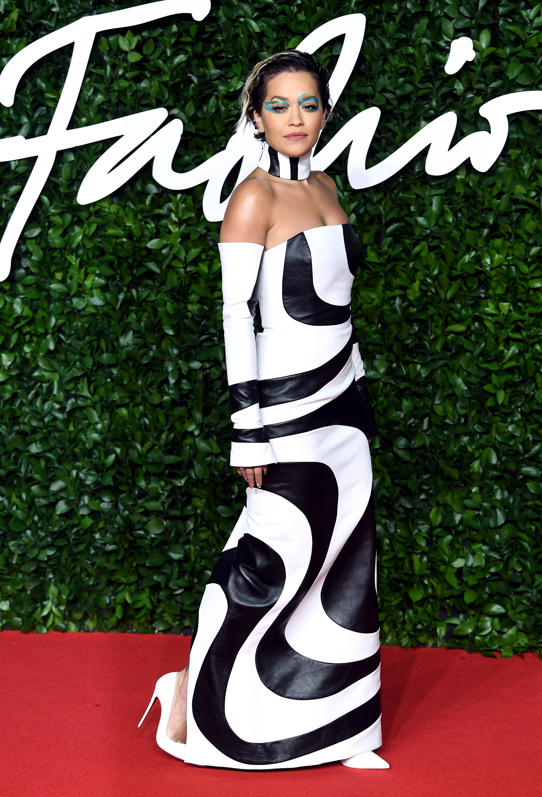Rita Ora attends The Fashion Awards