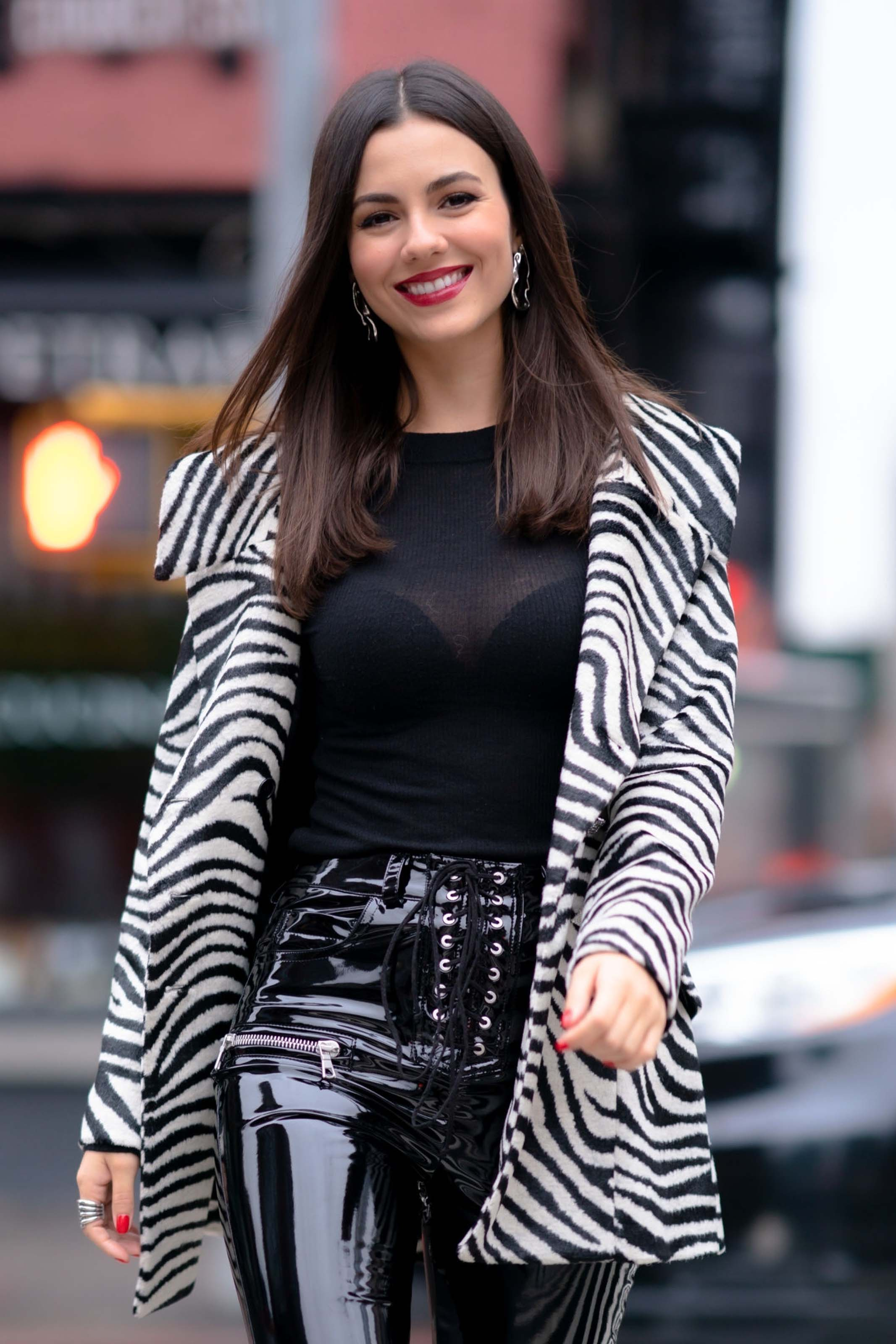 Victoria Justice out in Tribeca