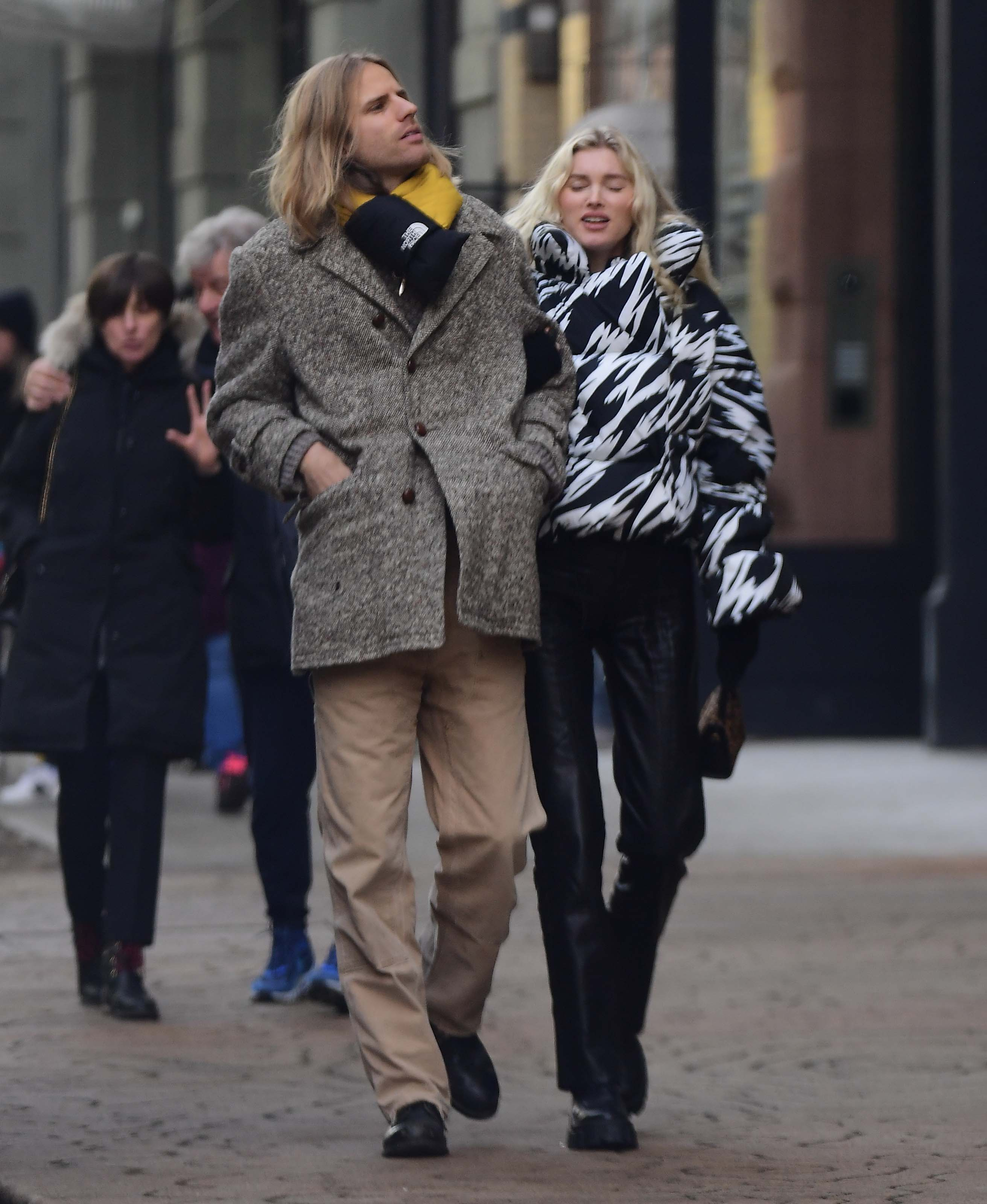 Elsa Hosk out in New Jersey