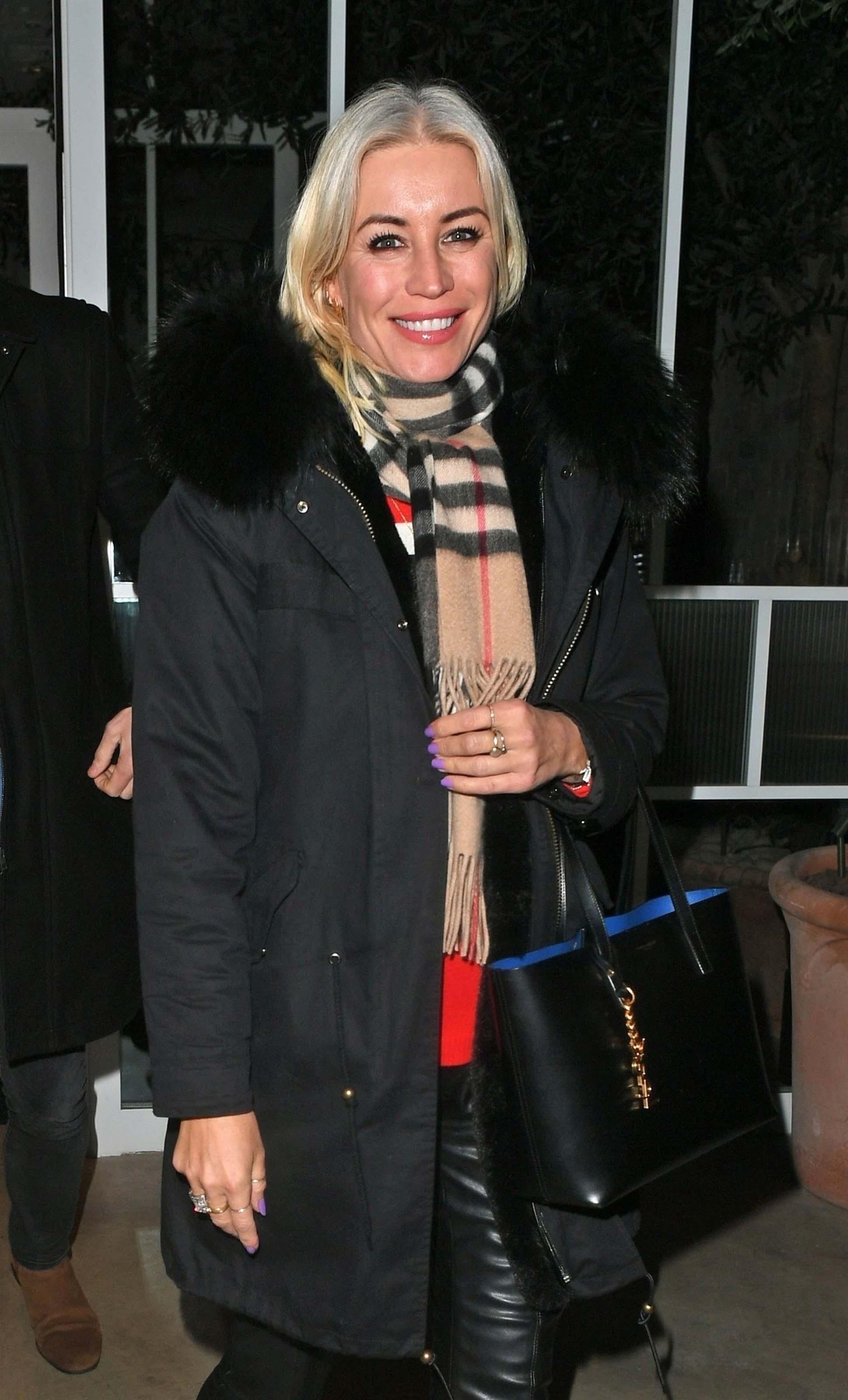 Denise Van Outen at Bloomsbury Kitchen