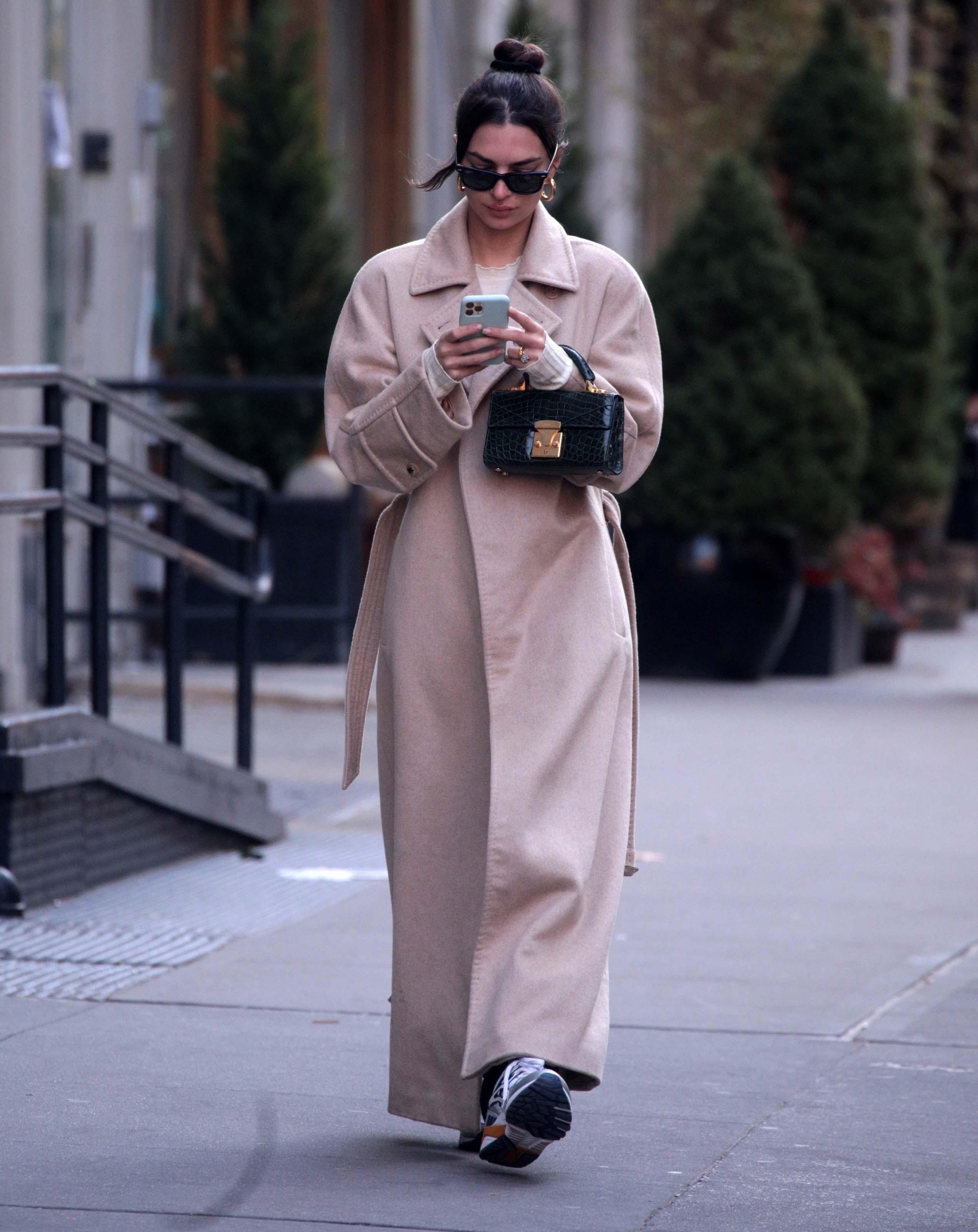 Emily Ratajkowski out in New York