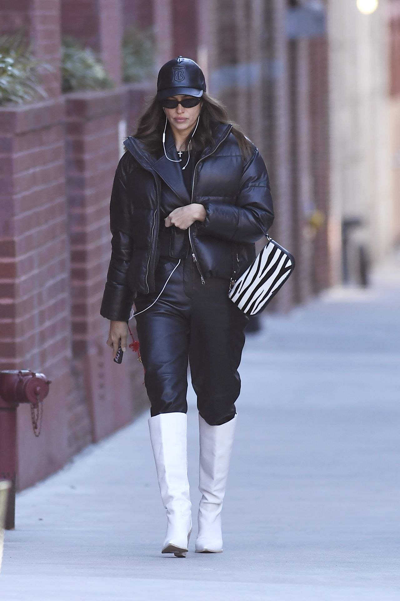 Irina Shayk spotted out and about in NYC