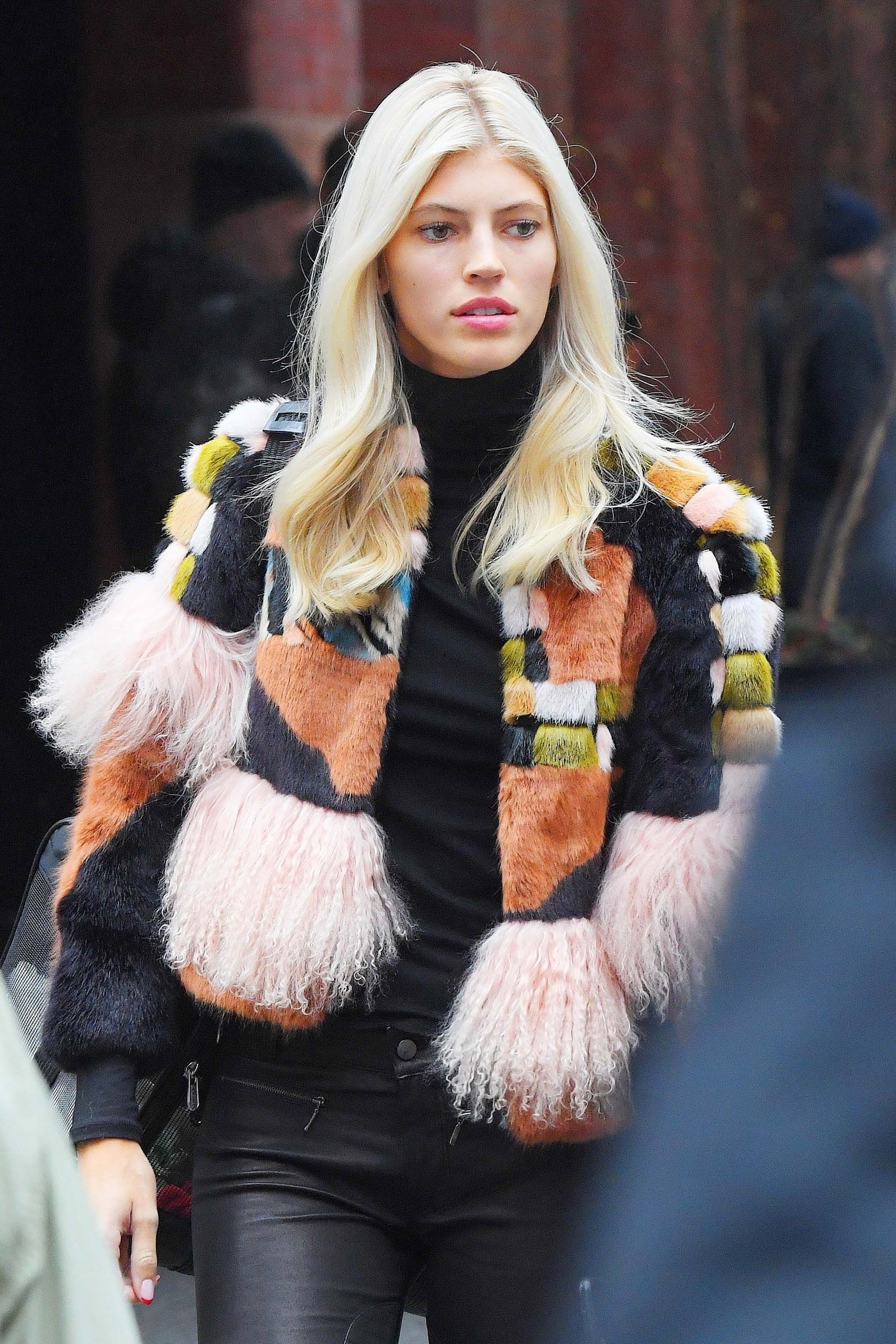 Devon Windsor is all style while out in SoHo