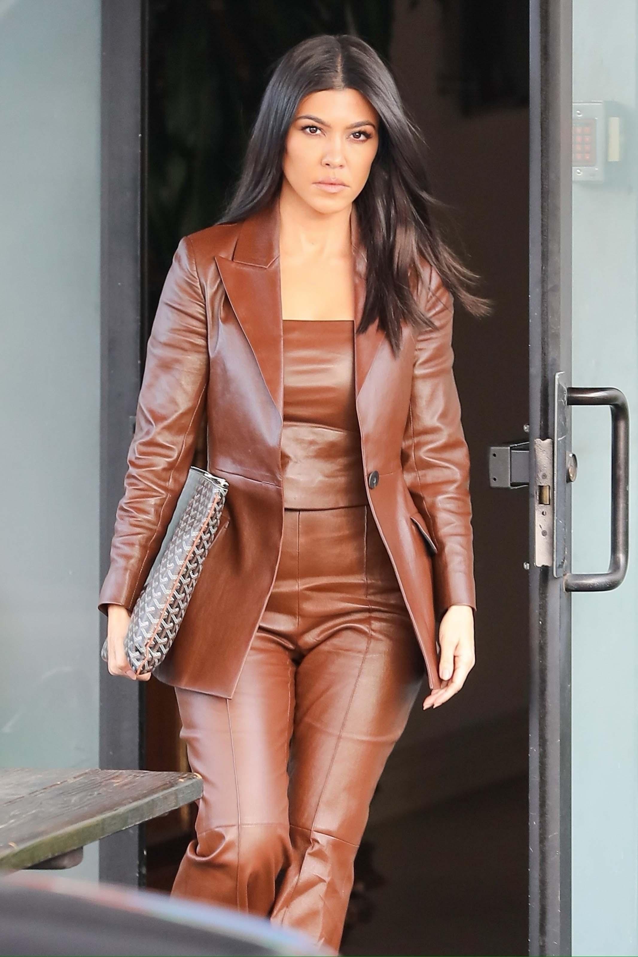 Kourtney Kardashian is all business