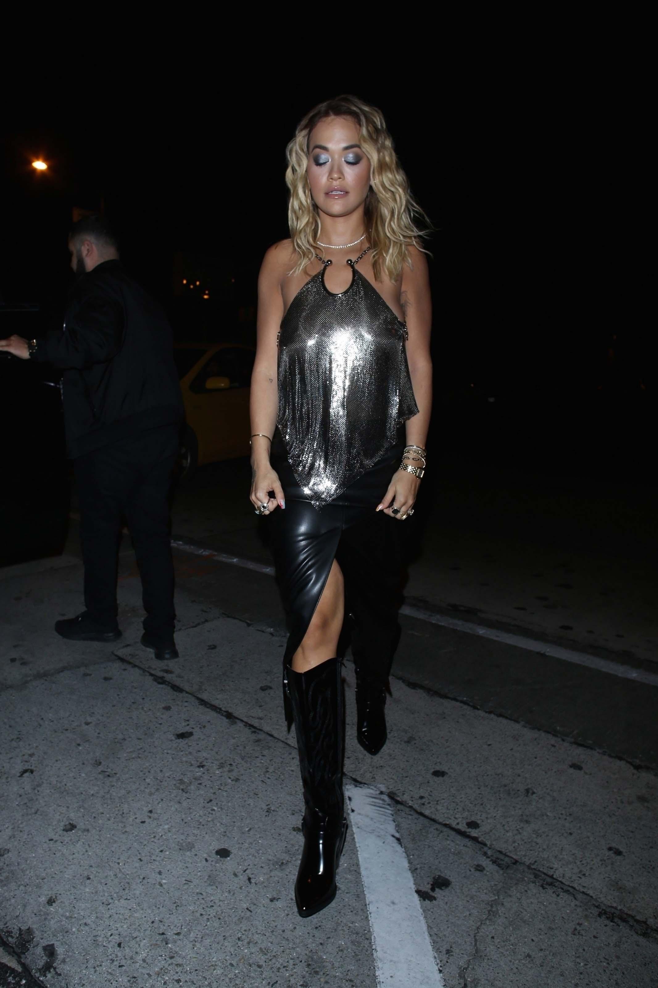 Rita Ora at Craig's