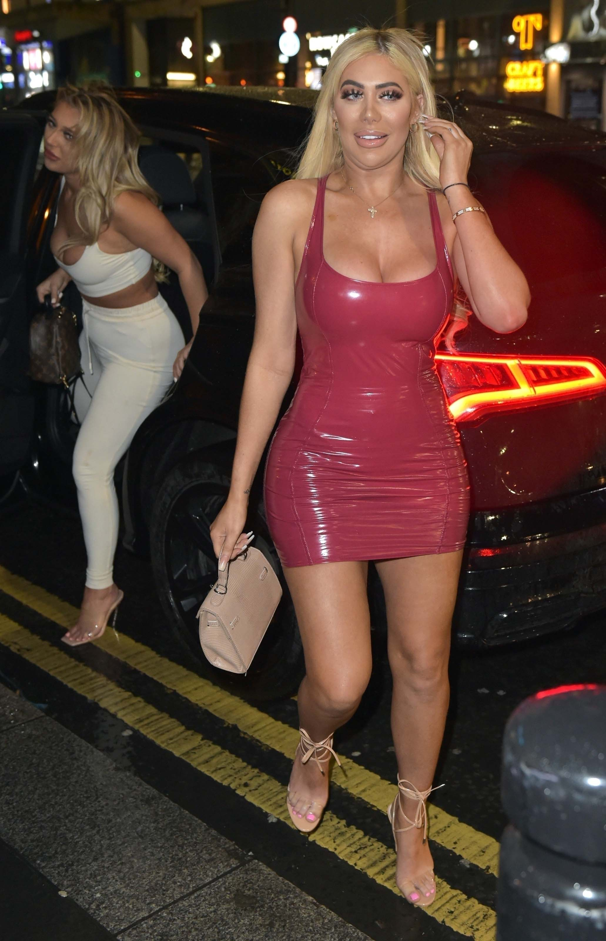 Bethan Kershaw, Chloe Ferry and Sophie Kasaei hit the Toon