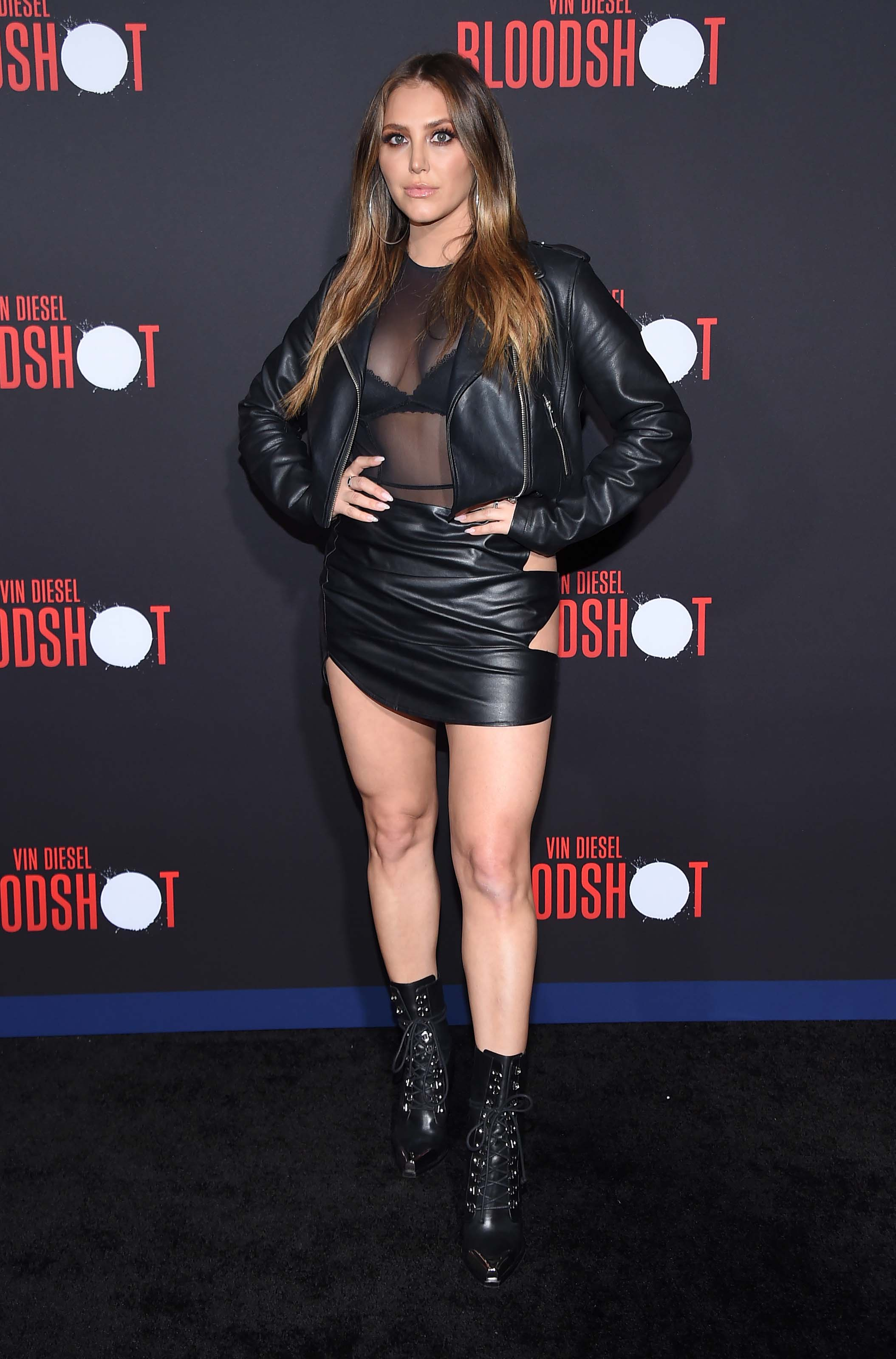 Cassie Scerbo at Bloodshot Los Angeles Premiere