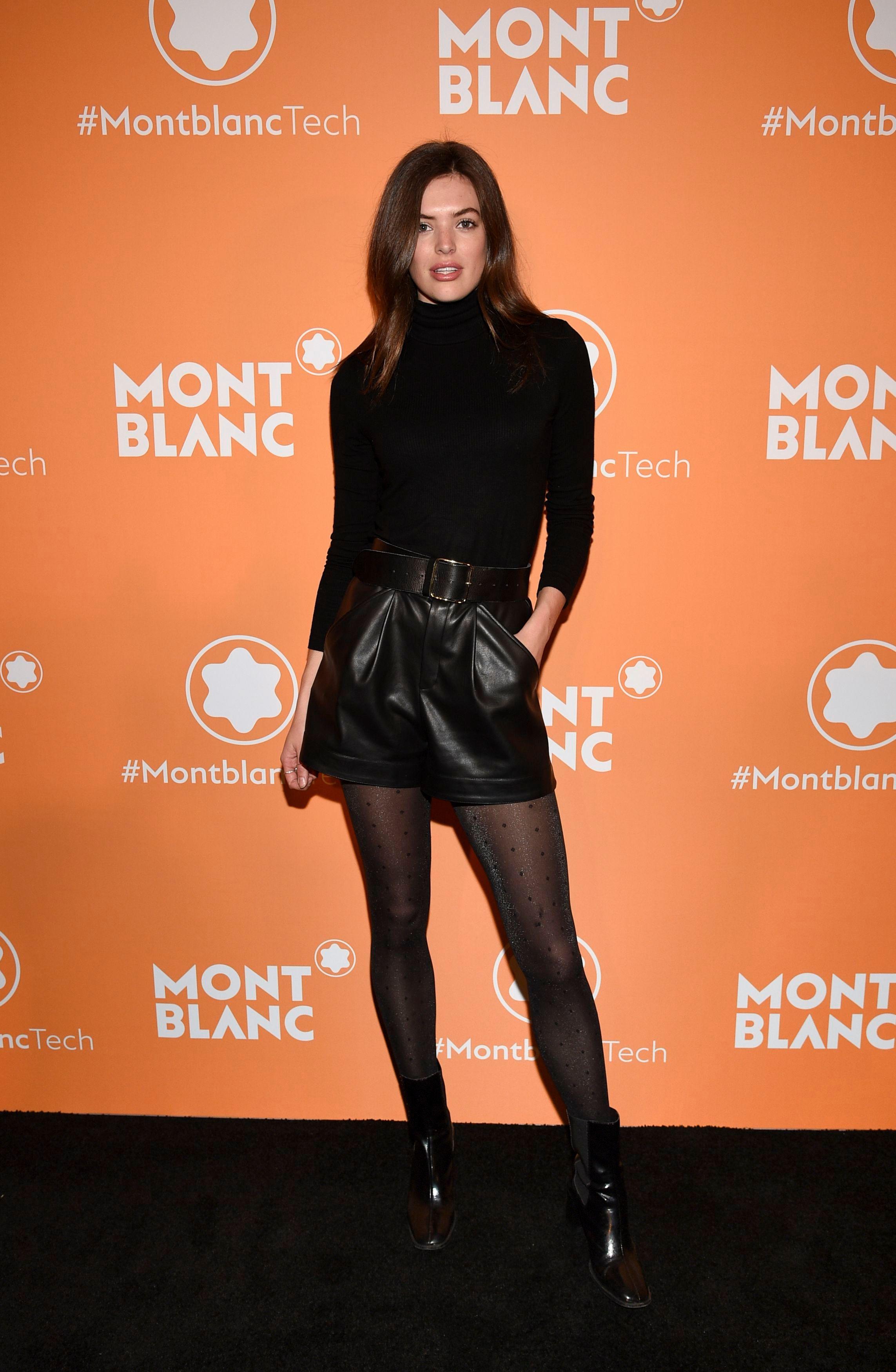 Sofie Rovenstine at Montblanc MB 01 Smart Headphones & Summit