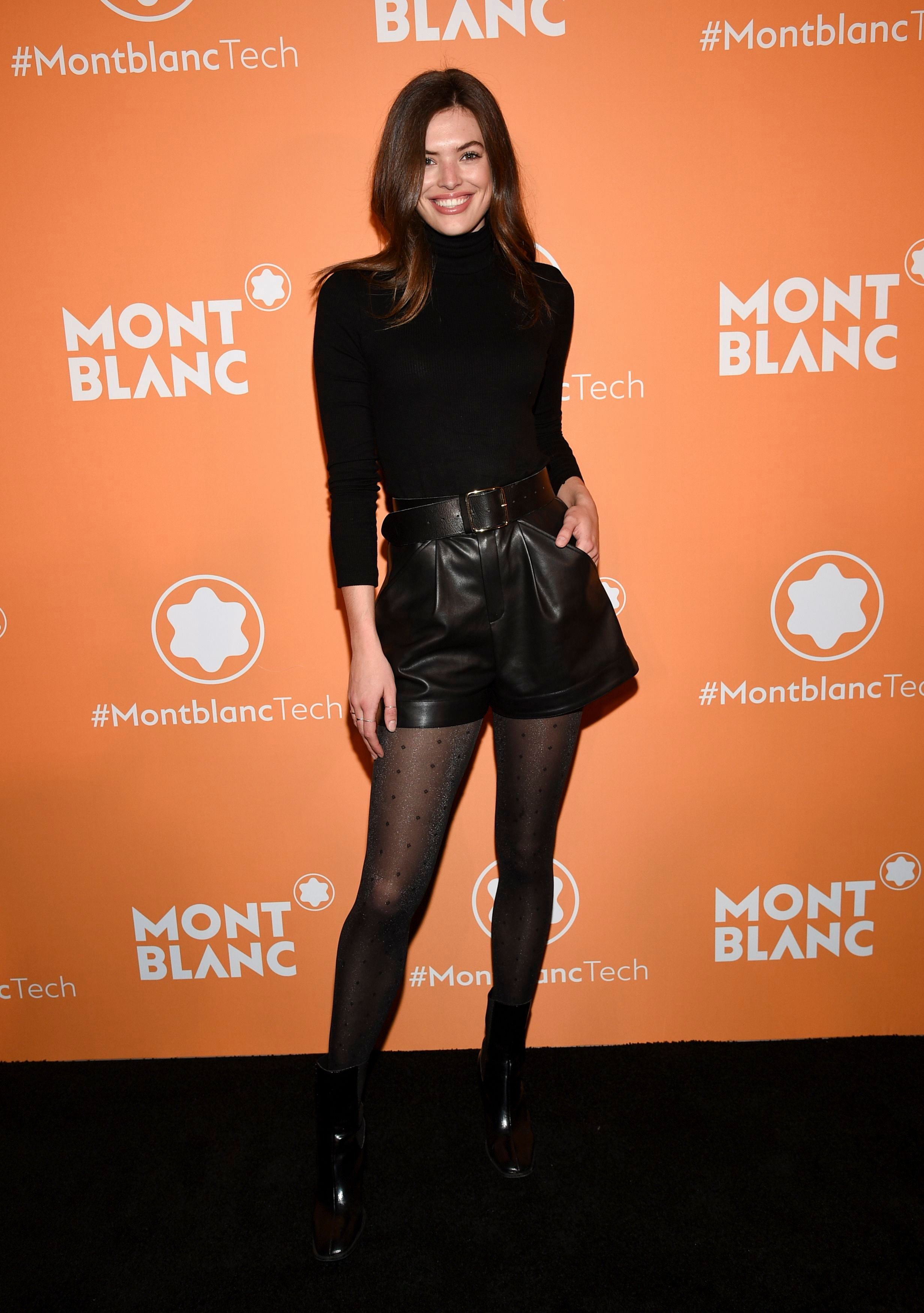 Sofie Rovenstine at Montblanc MB 01 Smart Headphones & Summit