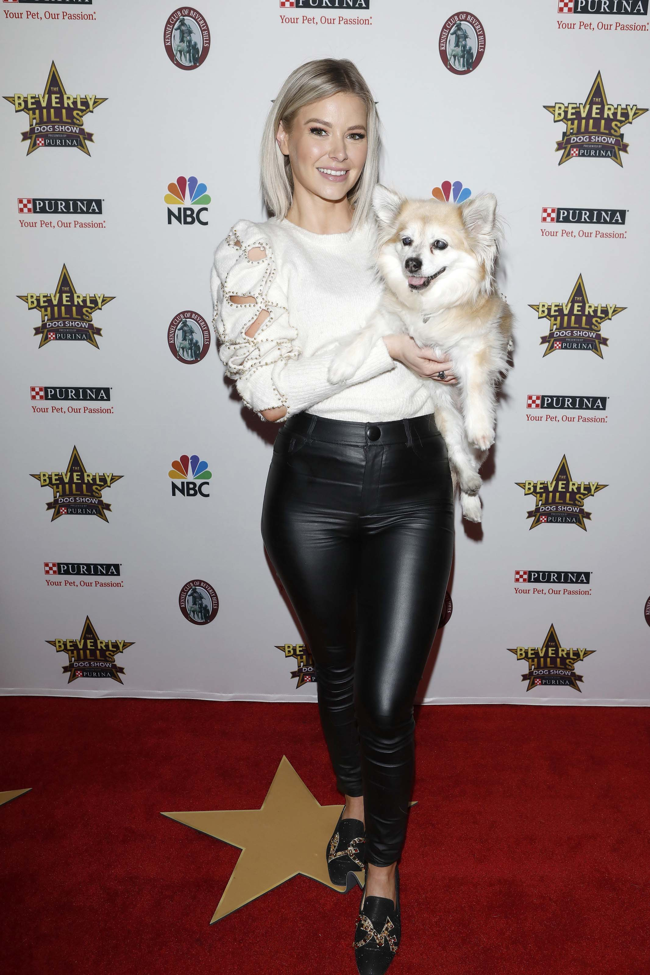 Ariana Madix at Beverly Hills Dog Show