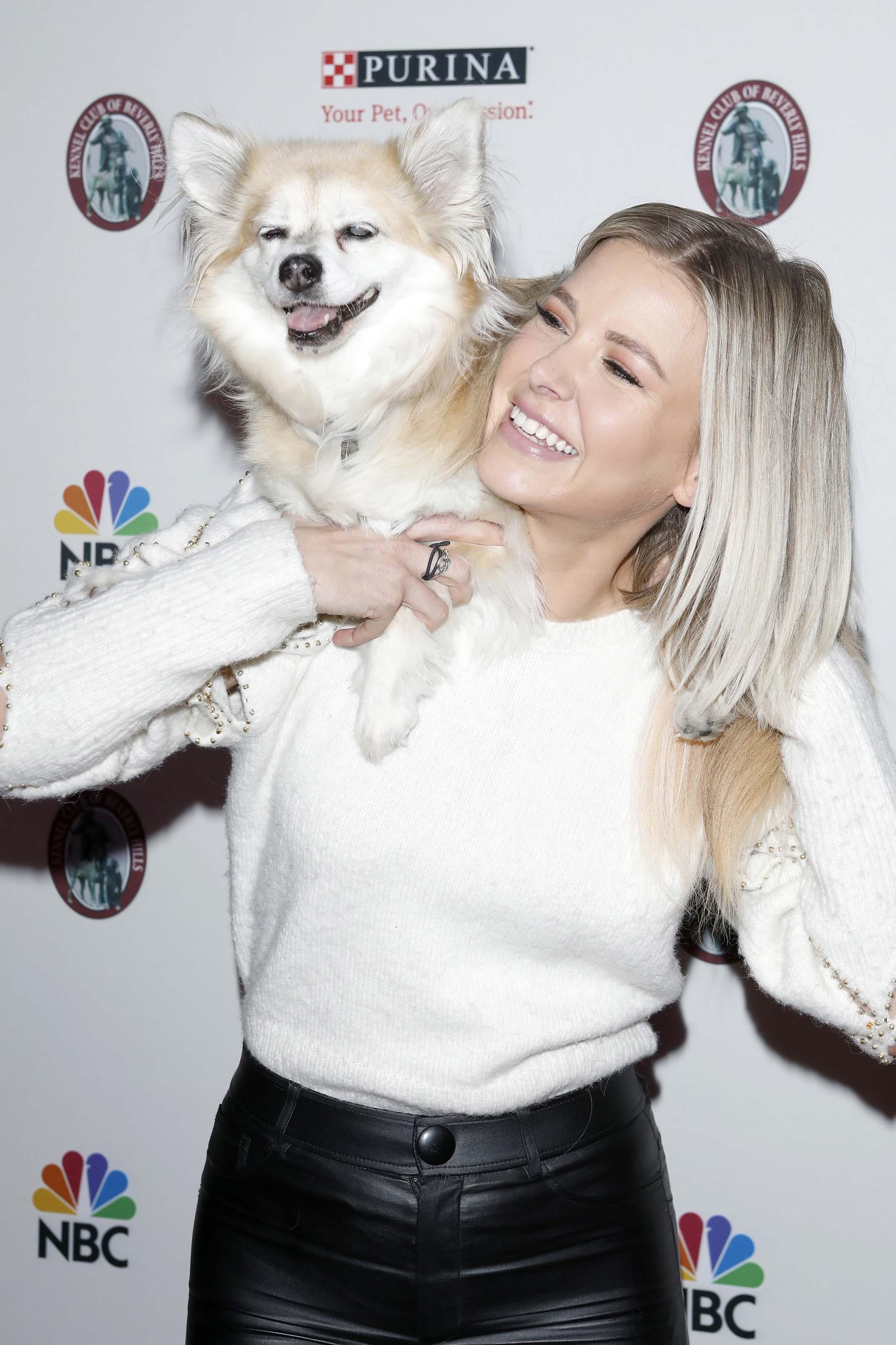 Ariana Madix at Beverly Hills Dog Show