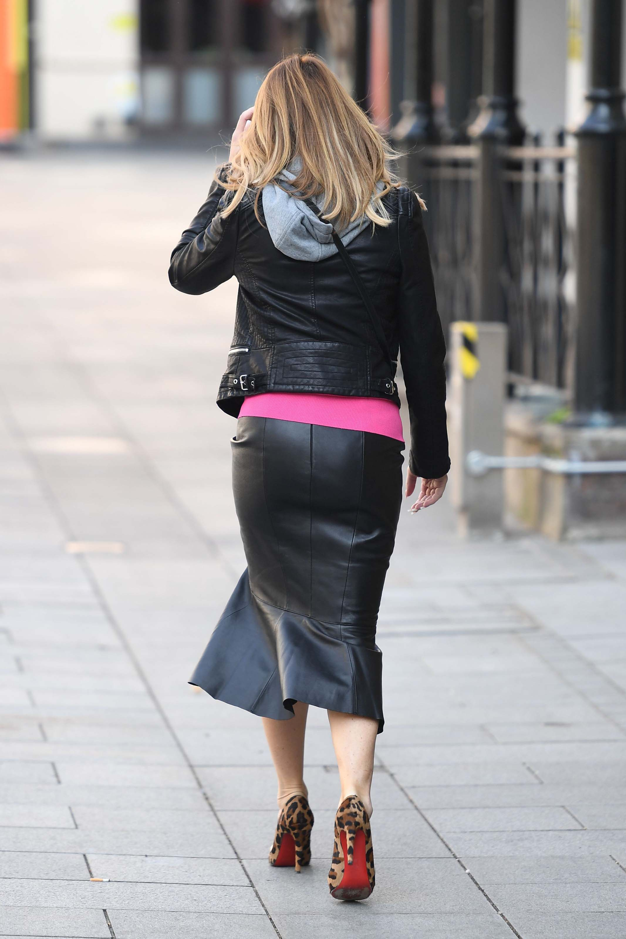 Amanda Holden at Heart Radio in London 27th March 2020