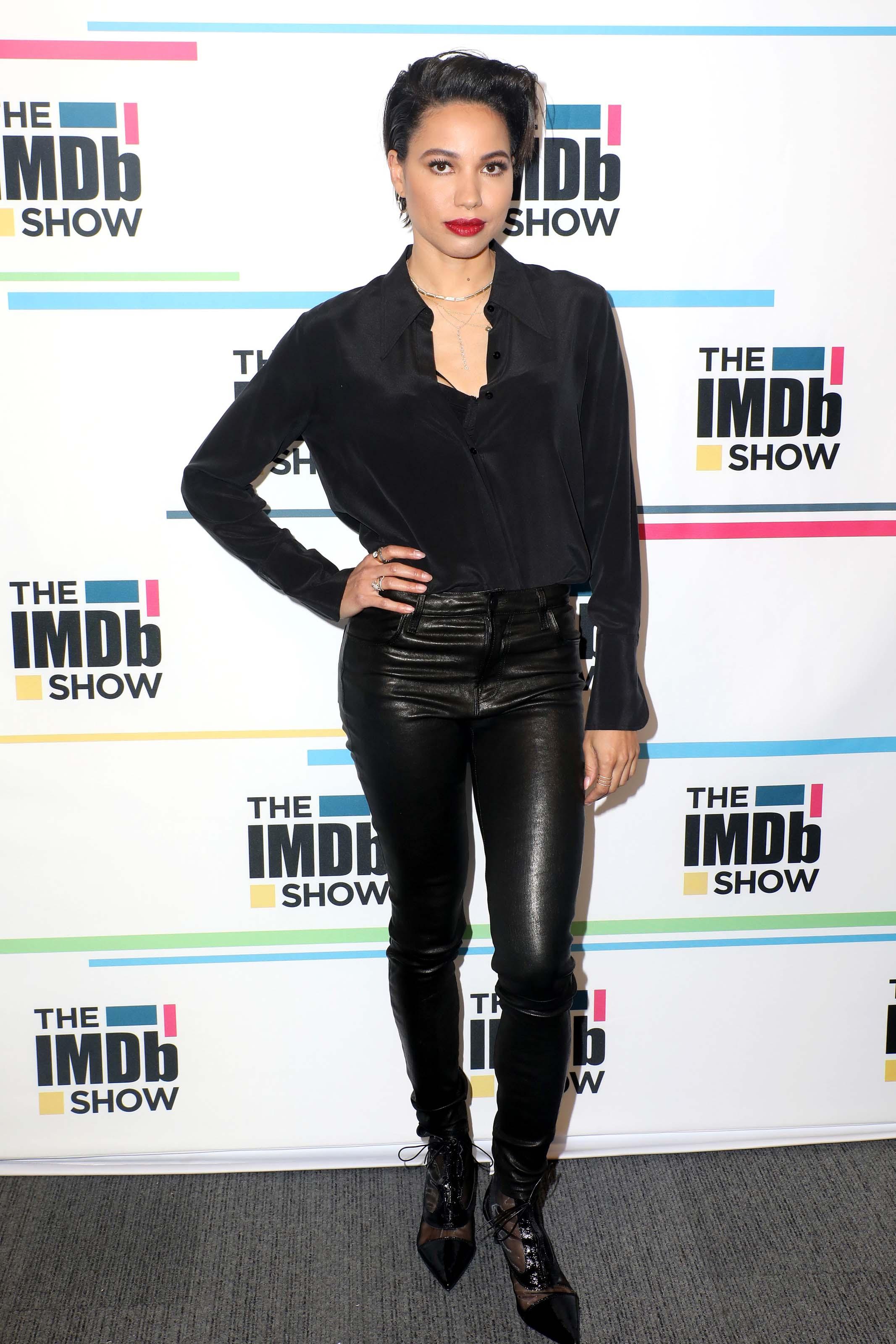 Jurnee Smollett-Bell on the IMDb Show