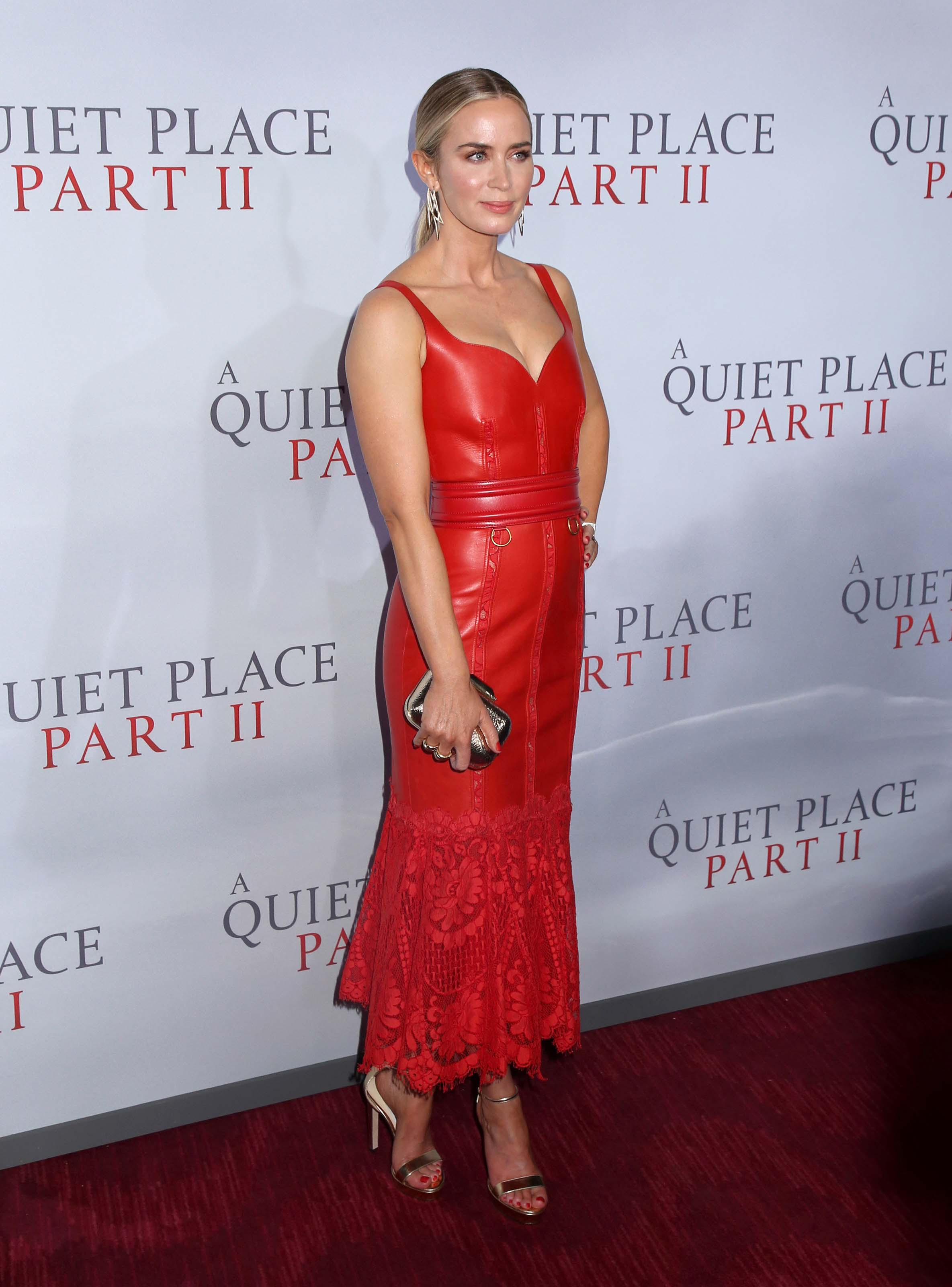 Emily Blunt attends A Quiet Place Part II premiere