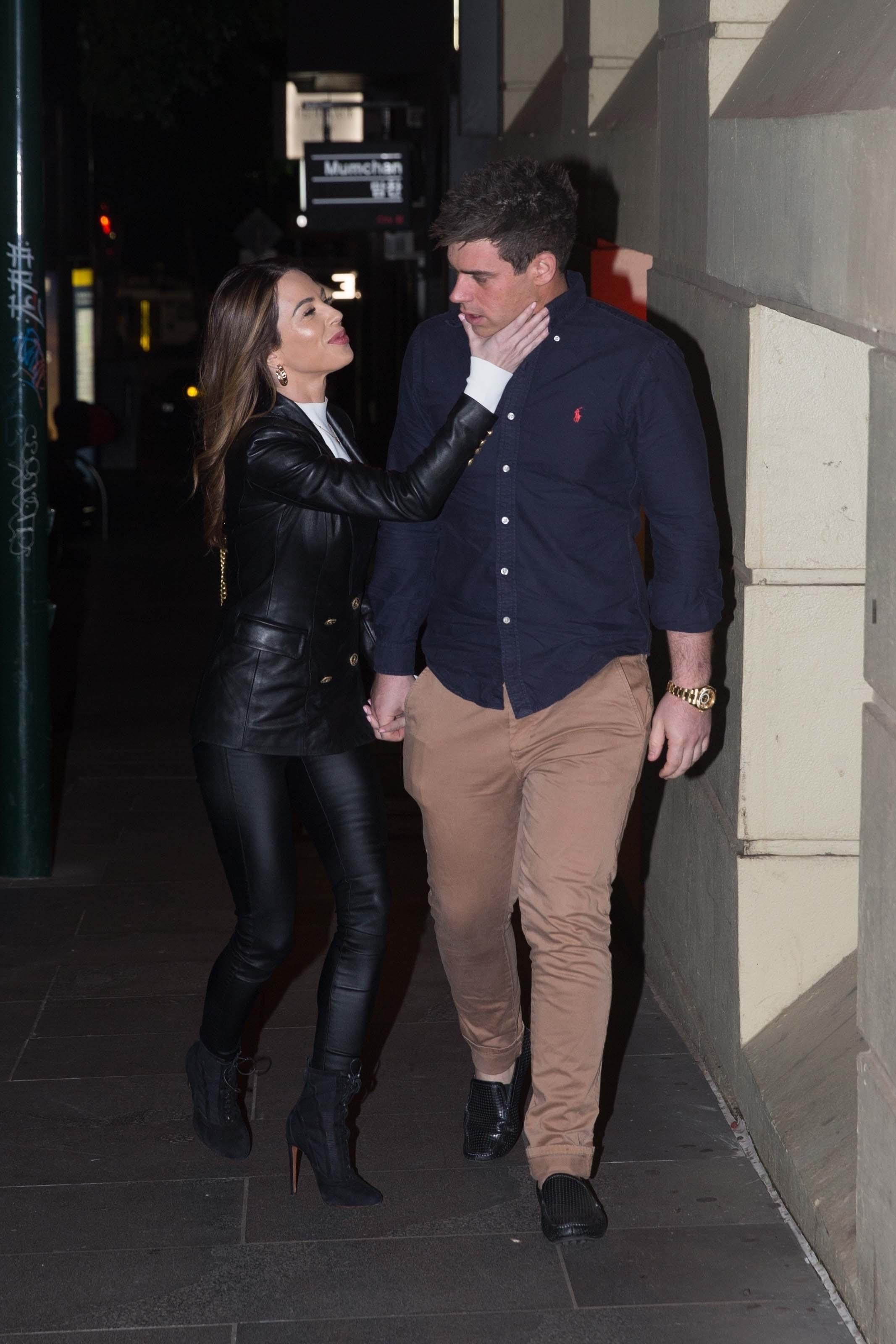 Kasey Osborne date night in Melbourne