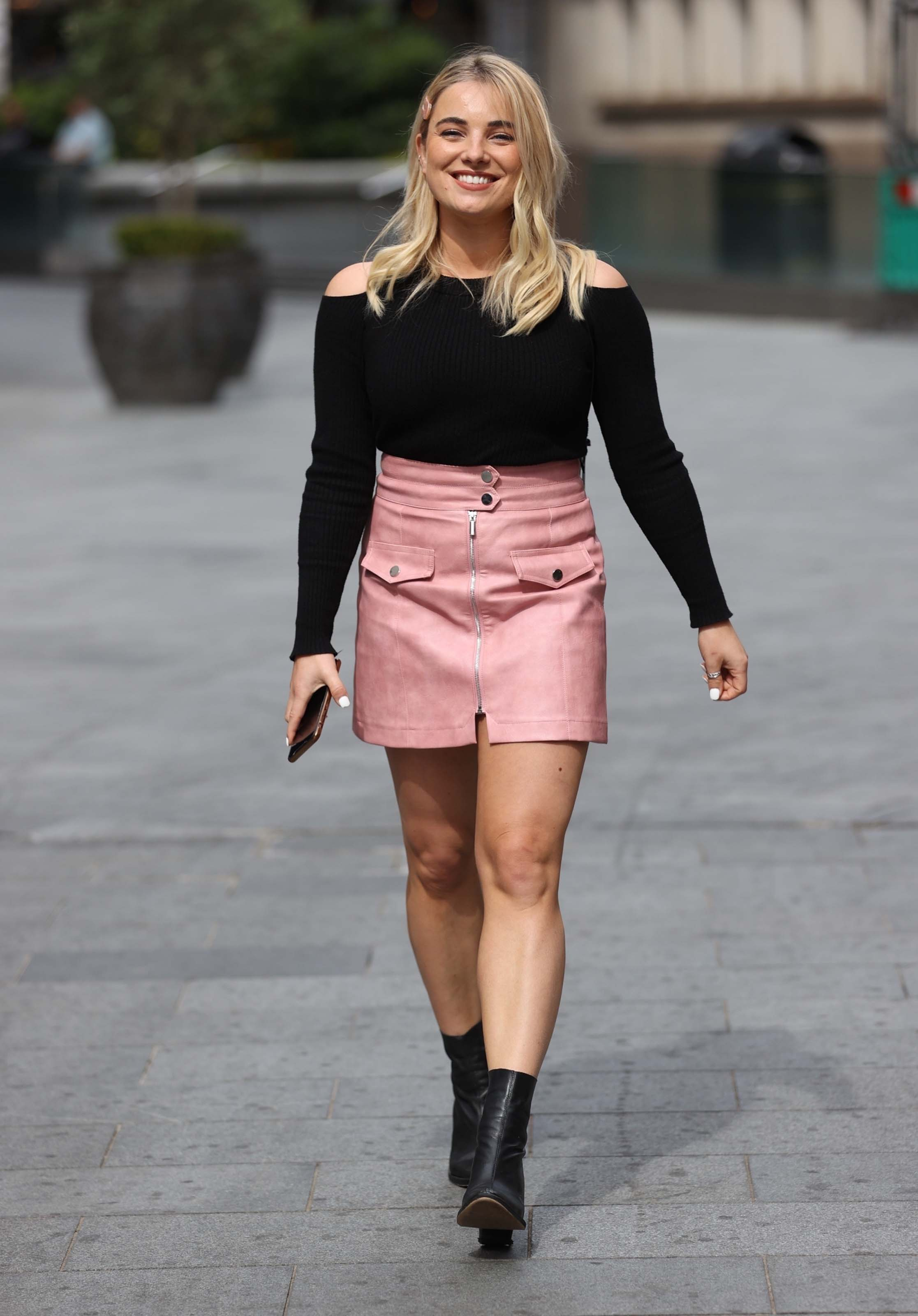 Sian Welby at Capital Breakfast show