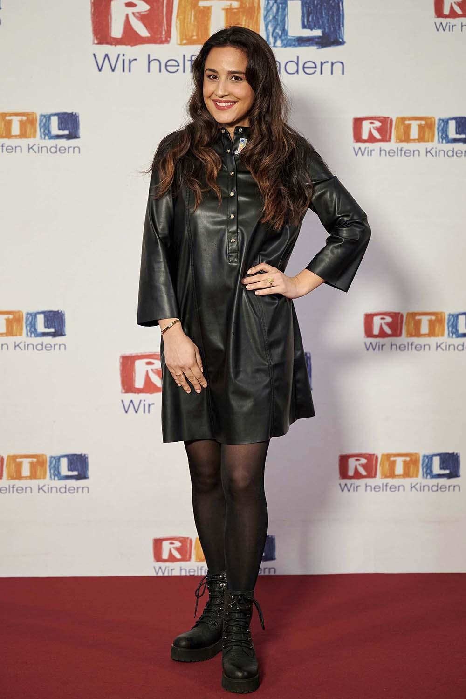 Nina Moghaddam seen at RTL Spendenmarathon