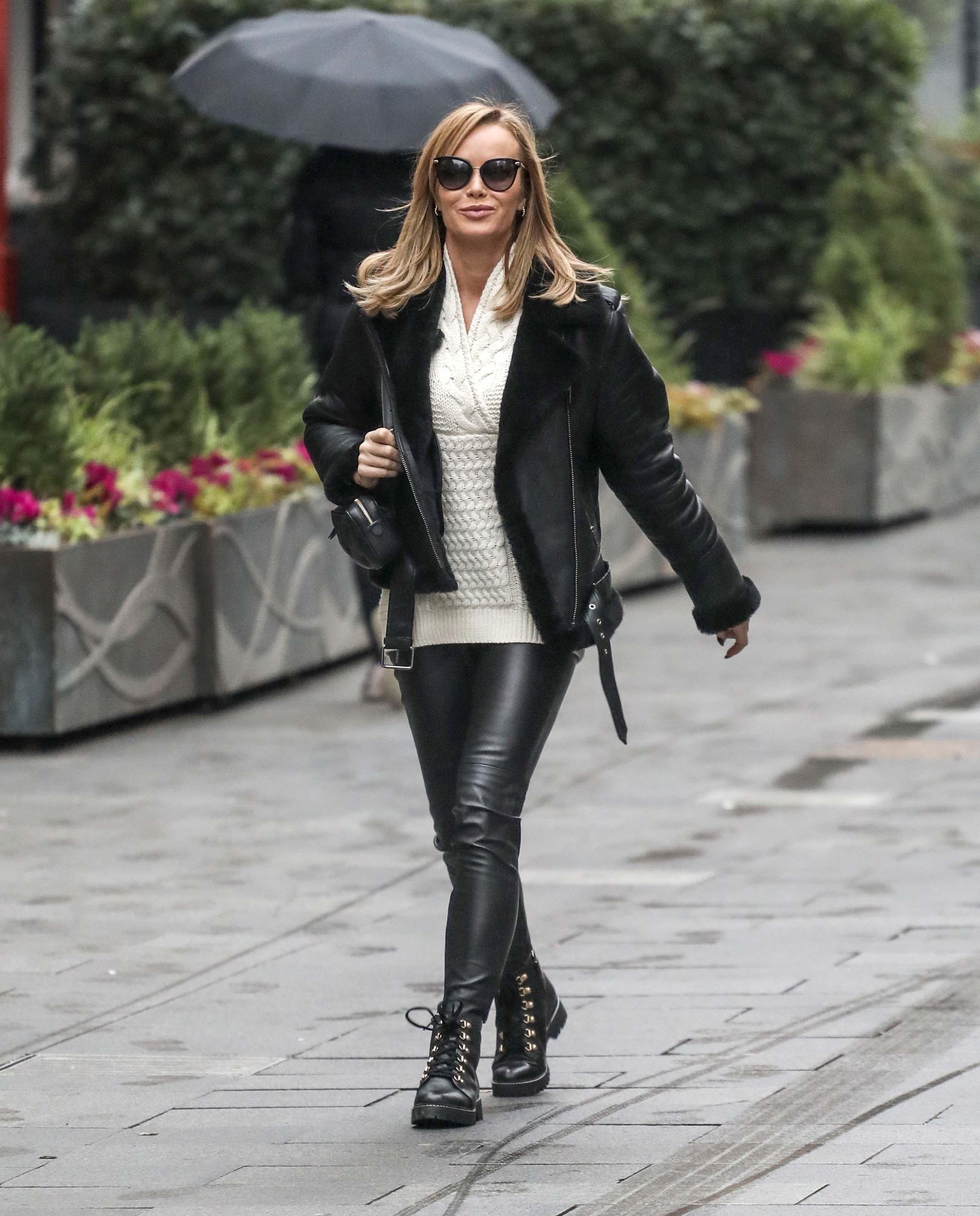 Amanda Holden leaving Global Radio in London
