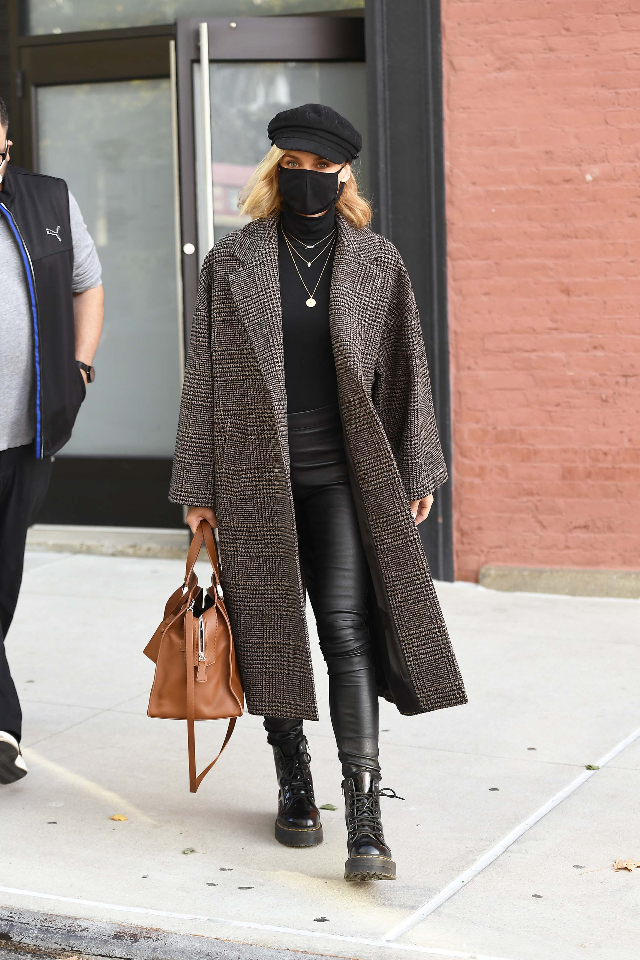 Diane Kruger leaving a photoshoot in New York City