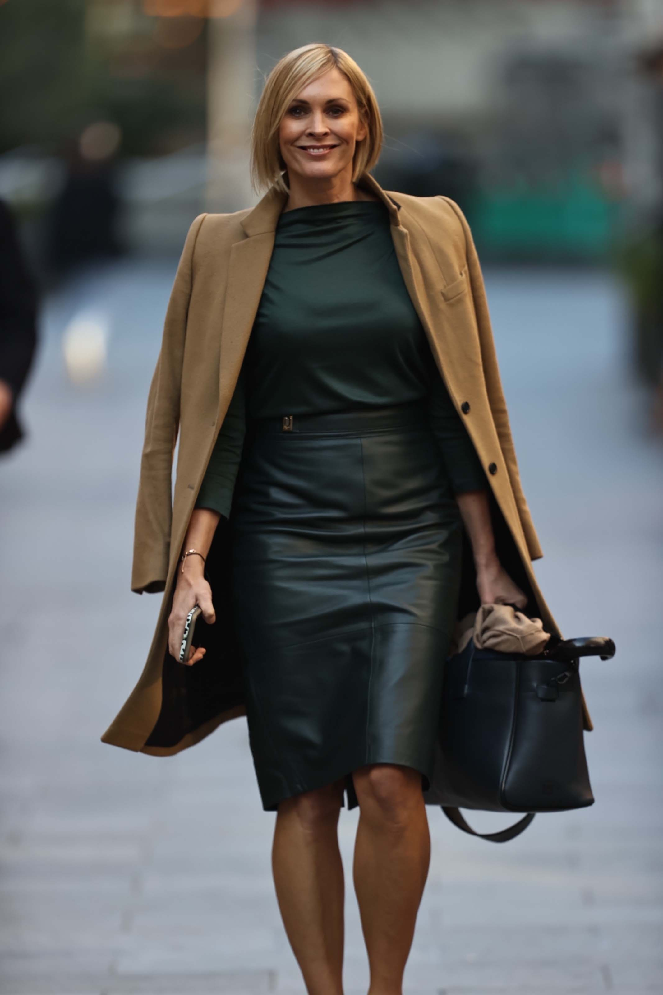 Jenni Falconer seen at Global Radio Studios in London