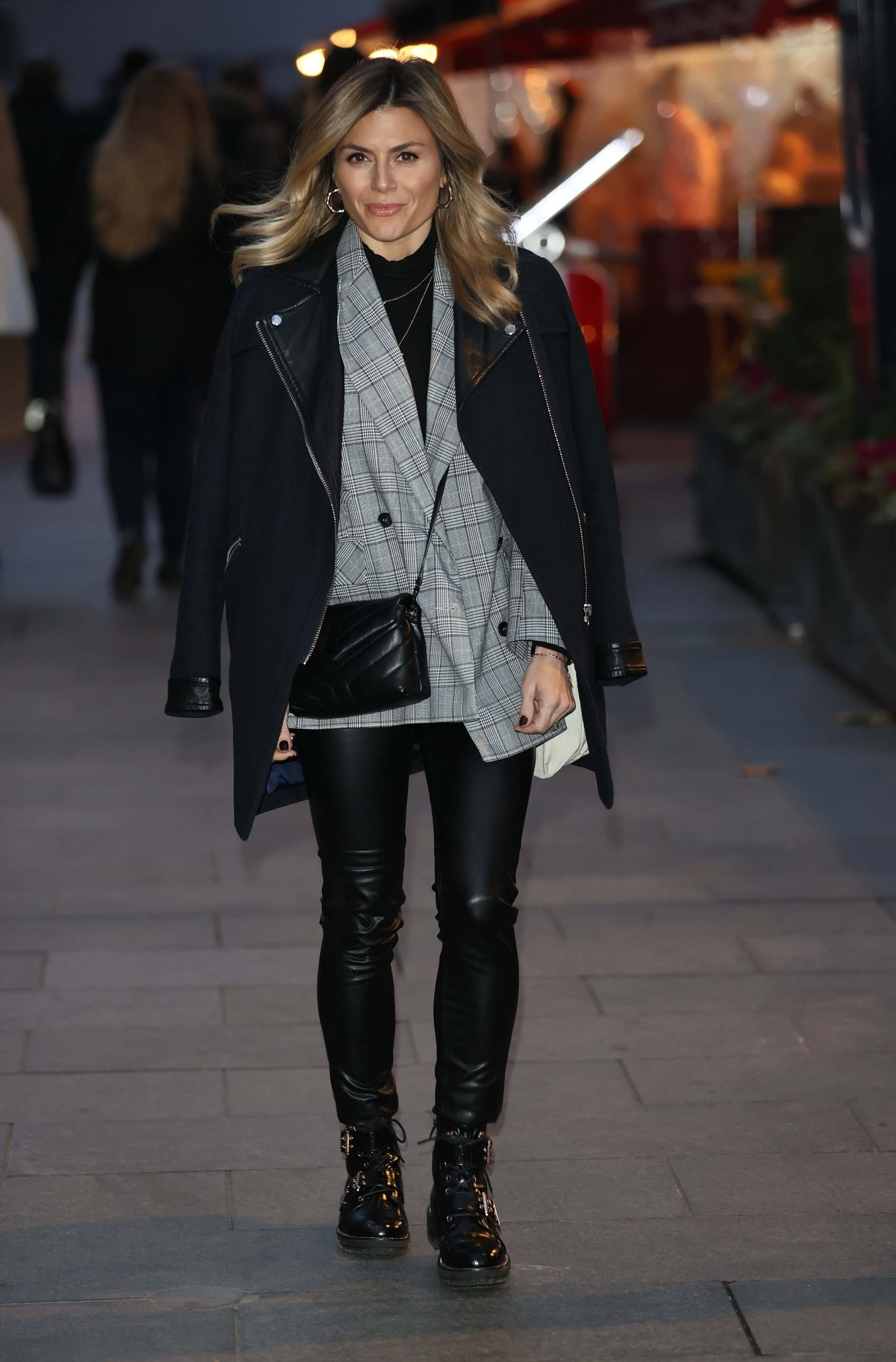 Zoe Hardman seen at Global offices in London