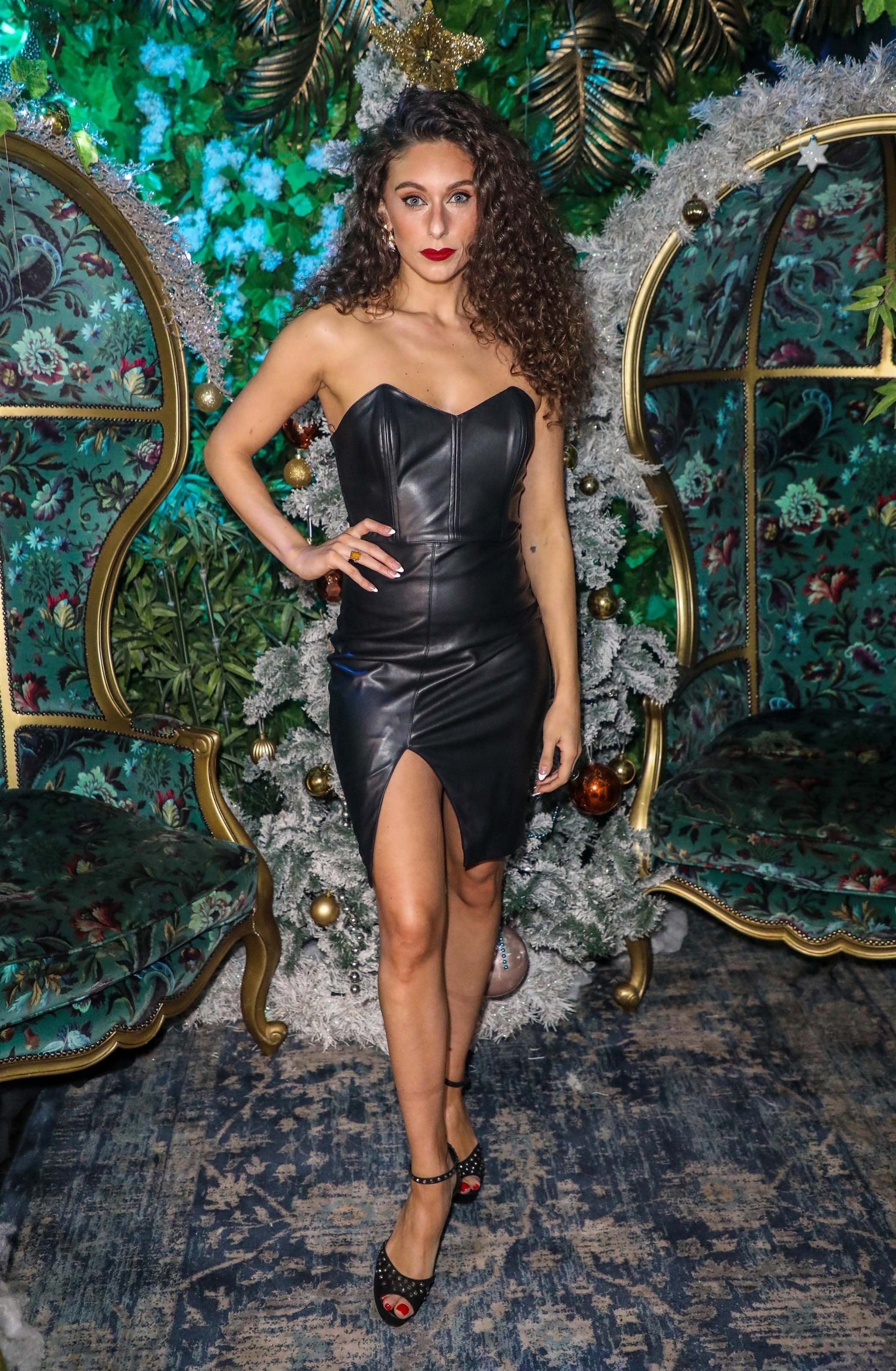 Amy Di Bartolomeo attends Cabaret All Stars at Proud Embankment in London