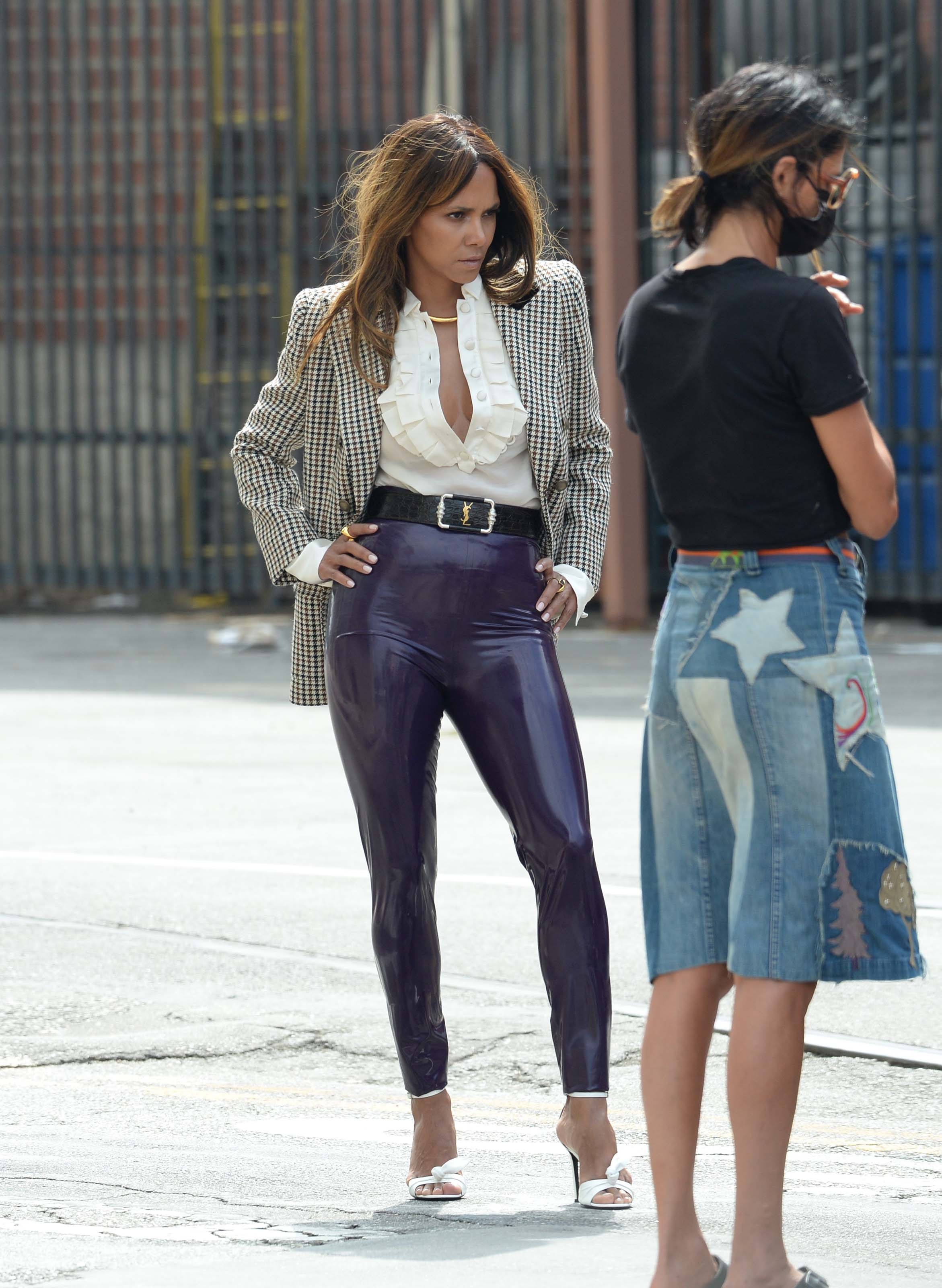 Halle Berry doing a photoshoot for Variety Magazine