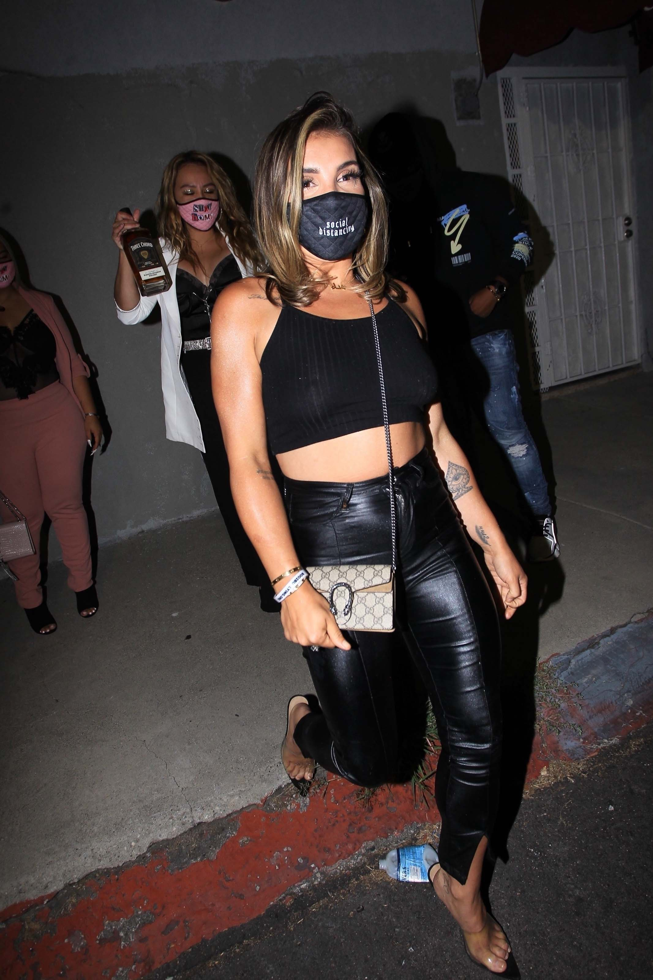 Hana Giraldo night out in Hollywood