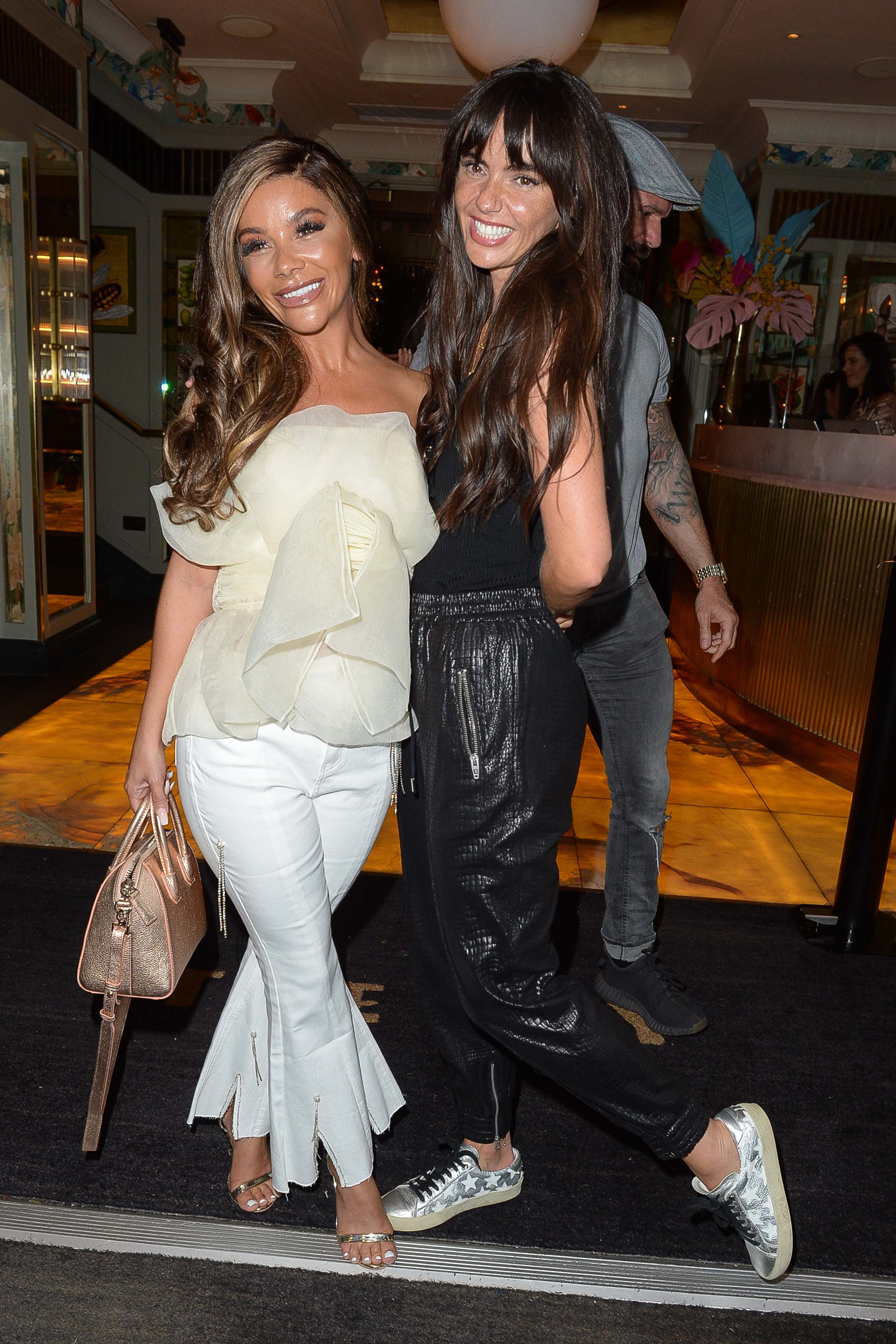 Jennifer Metcalfe at The Ivy for Chelsee Healey's birthday