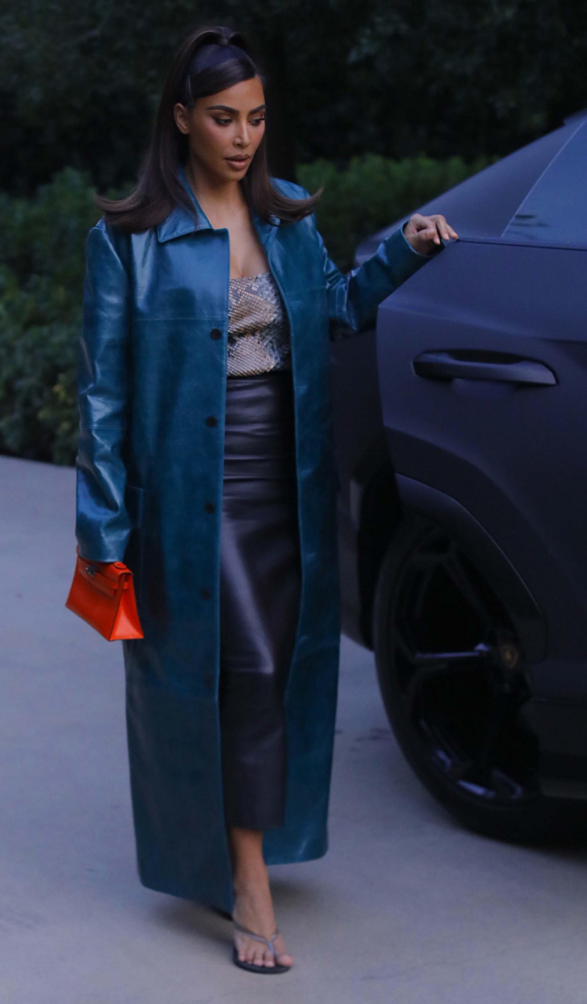 Kim Kardashian West at business meeting