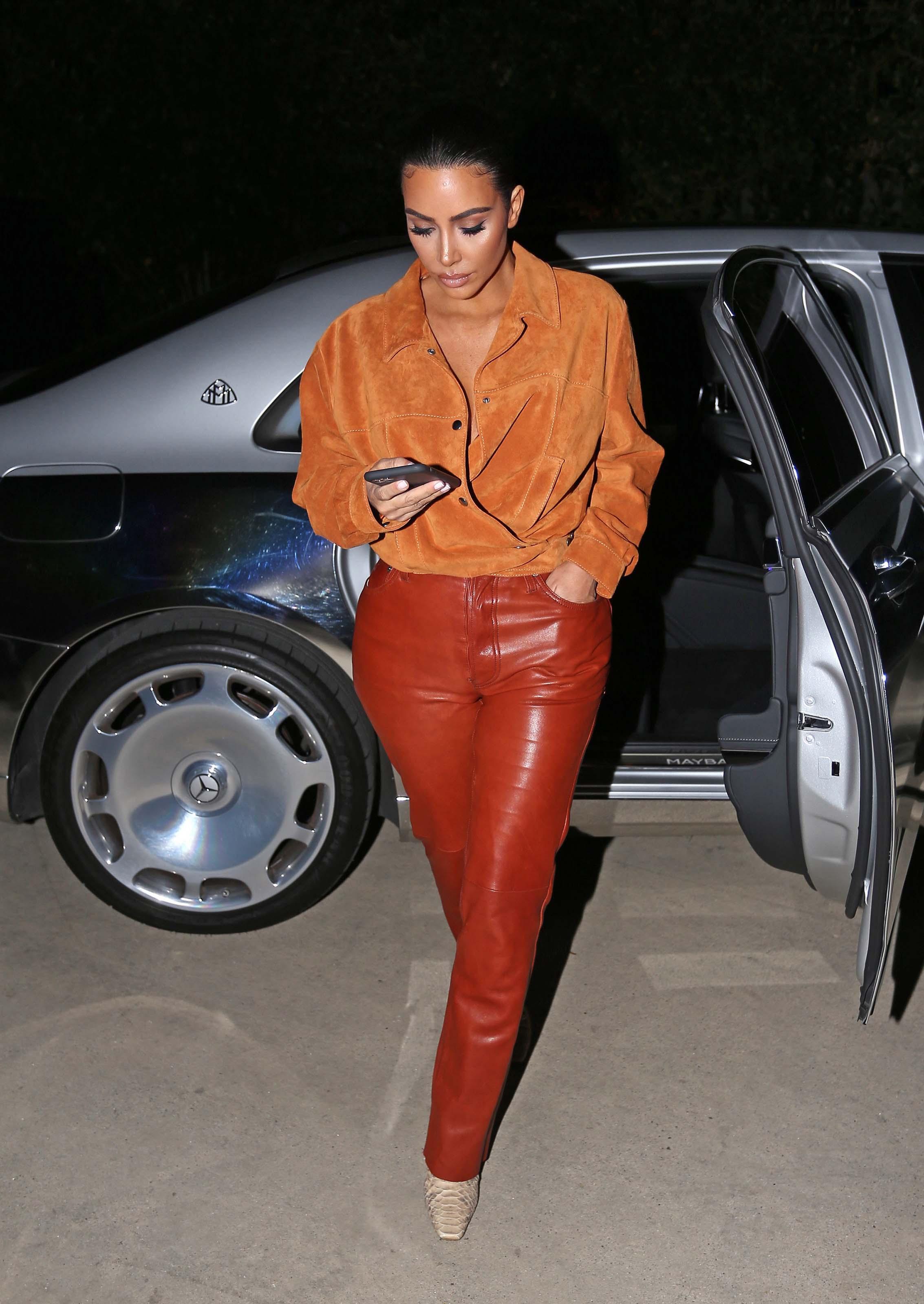 Kim Kardashian West out in Malibu