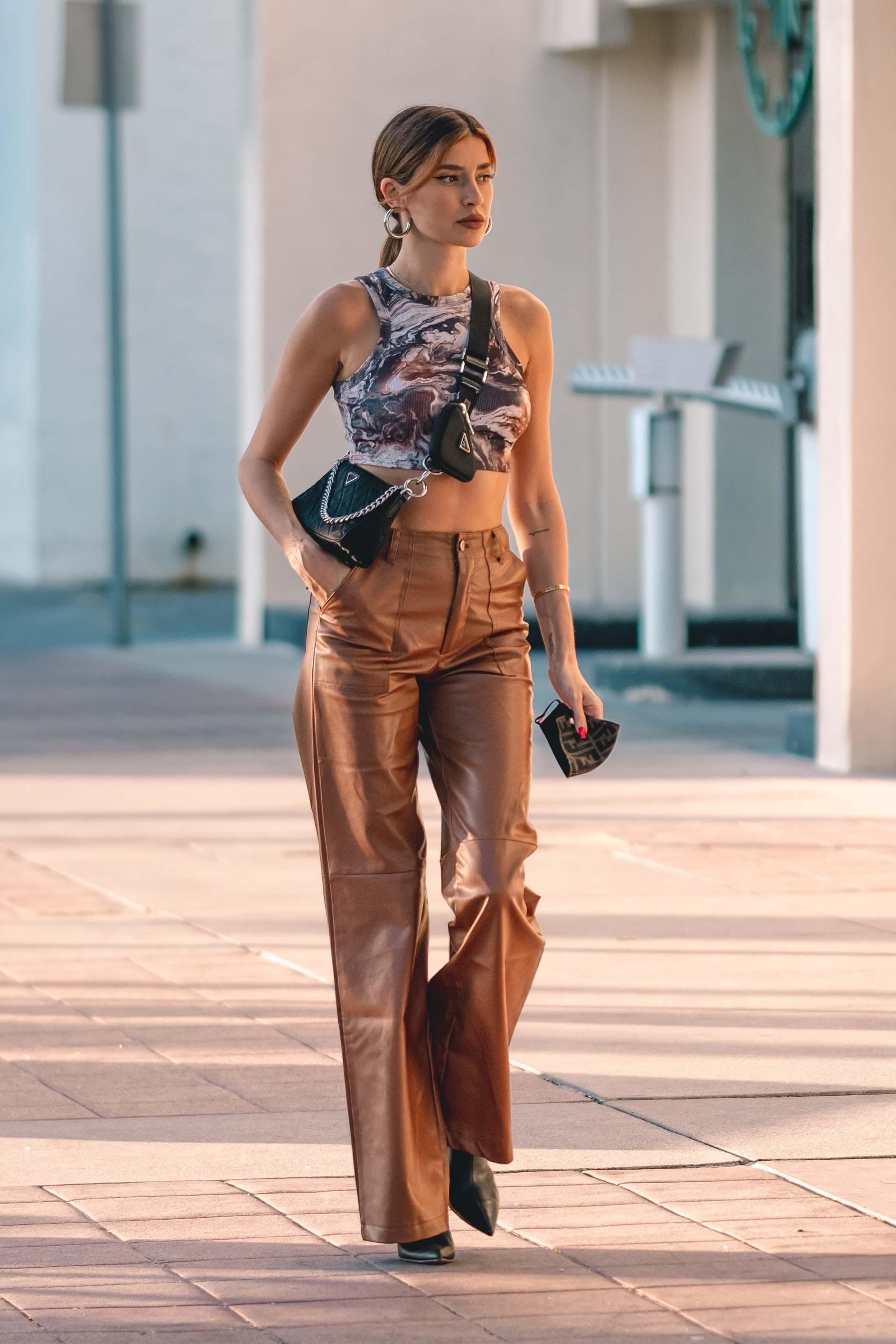Nicole Williams out in LA