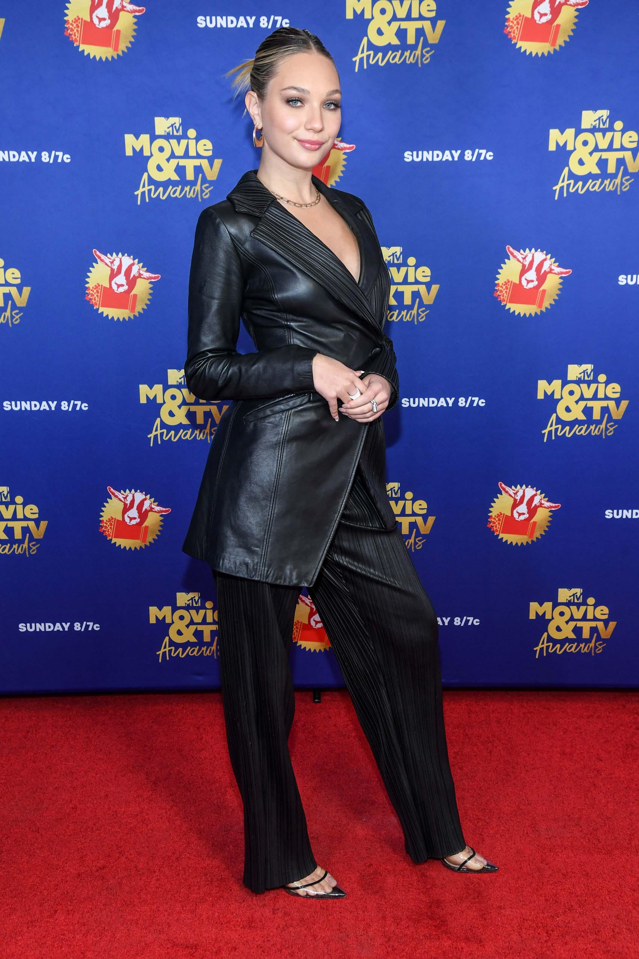 Maddie Ziegler attends 2020 MTV Movie & TV Awards