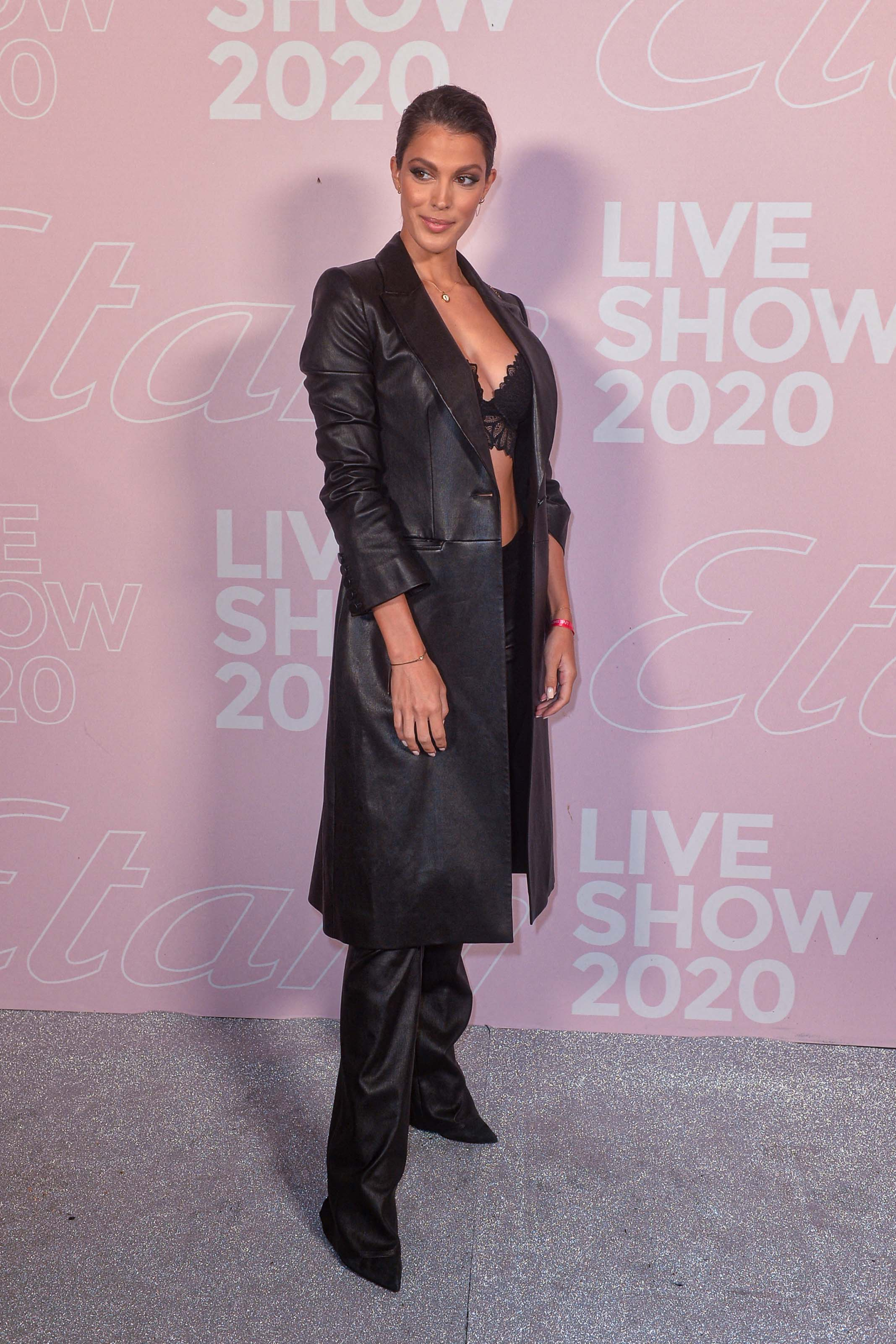 Iris Mittenaere attends the Etam Womenswear Spring/Summer 2021 show