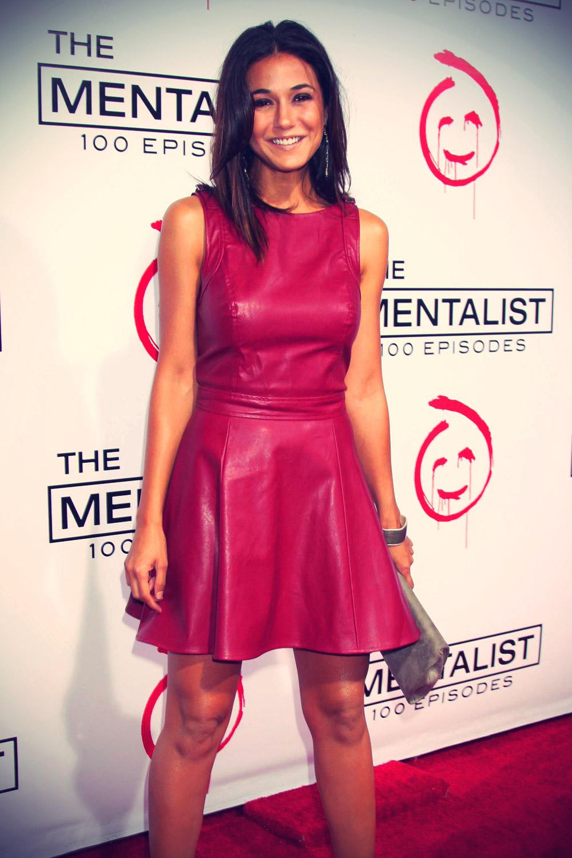 Emmanuelle Chriqui at CBS celebrates 100 Episodes of The Mentalist