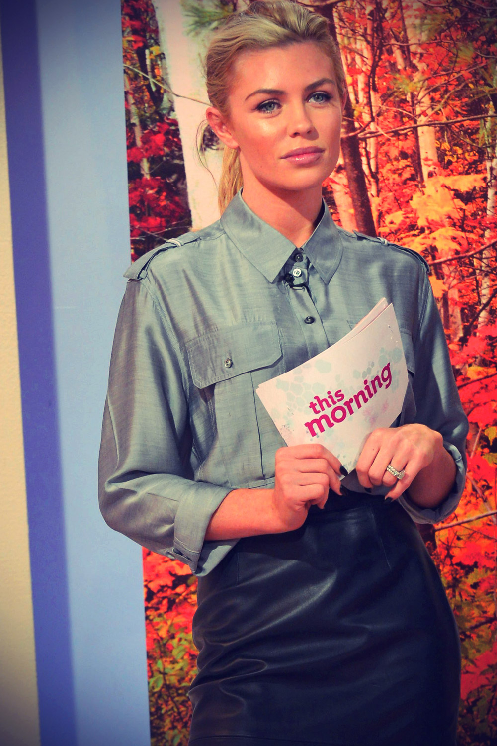 Abigail Clancy at This morning