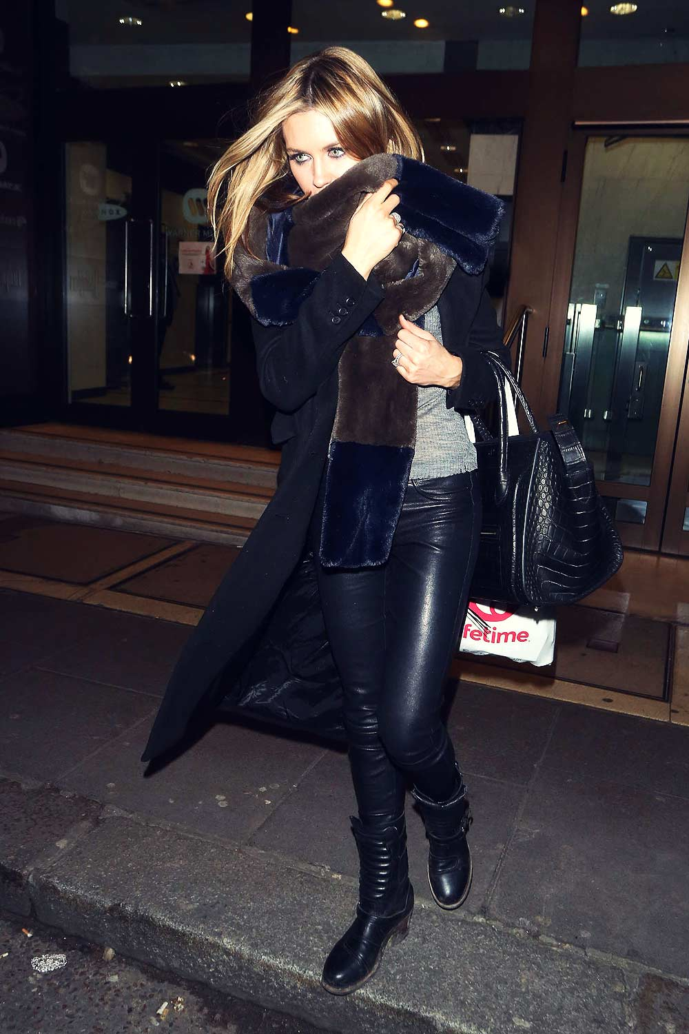 Abbey Clancy at Britain's Next Top Model Lunch