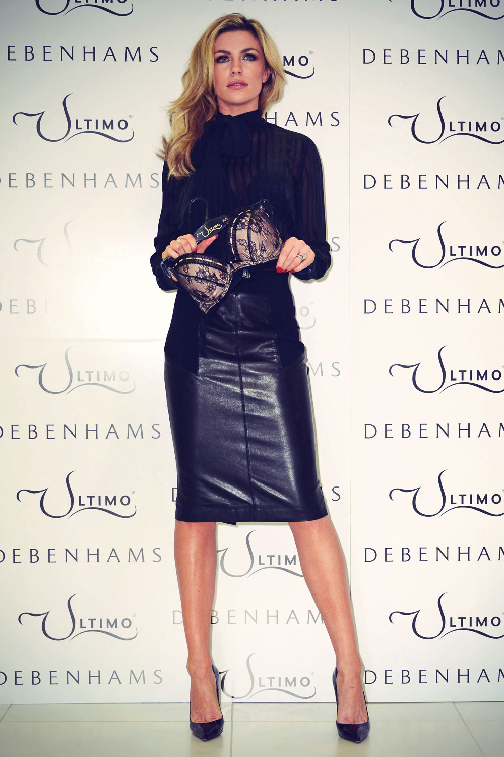 Abbey Clancy attends Launches Ultimo Valentines Collection