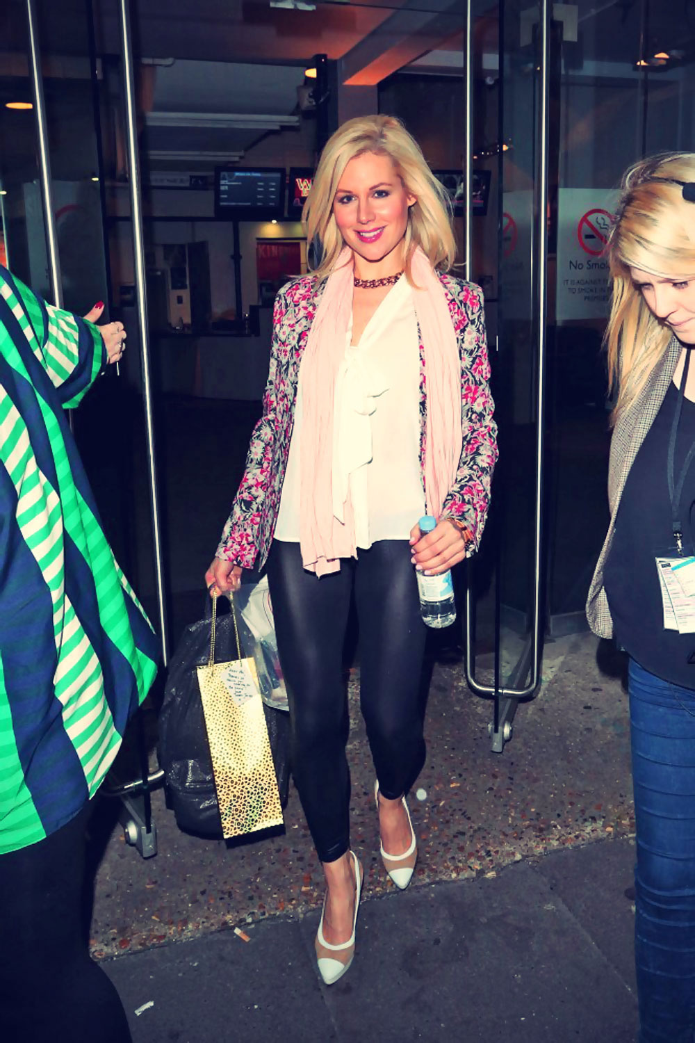 Abi Titmuss leaves the filming of Celebrity Juice