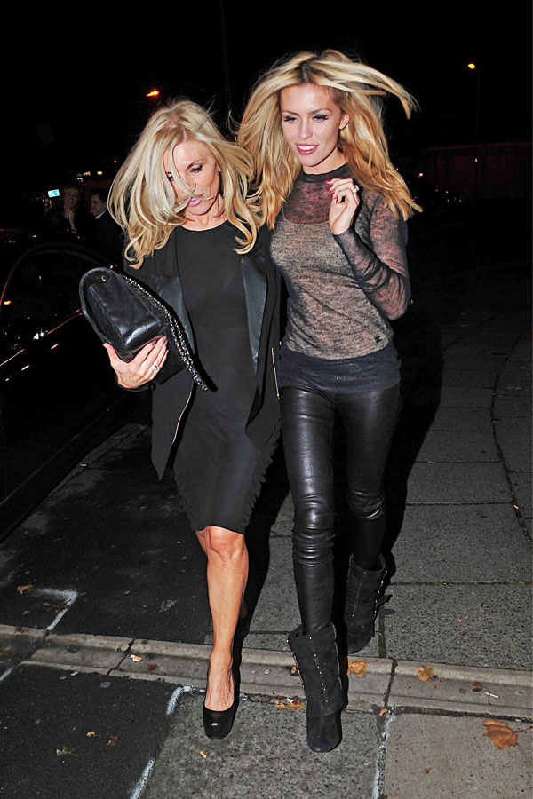 Abigail Clancy was spotted out in Liverpool