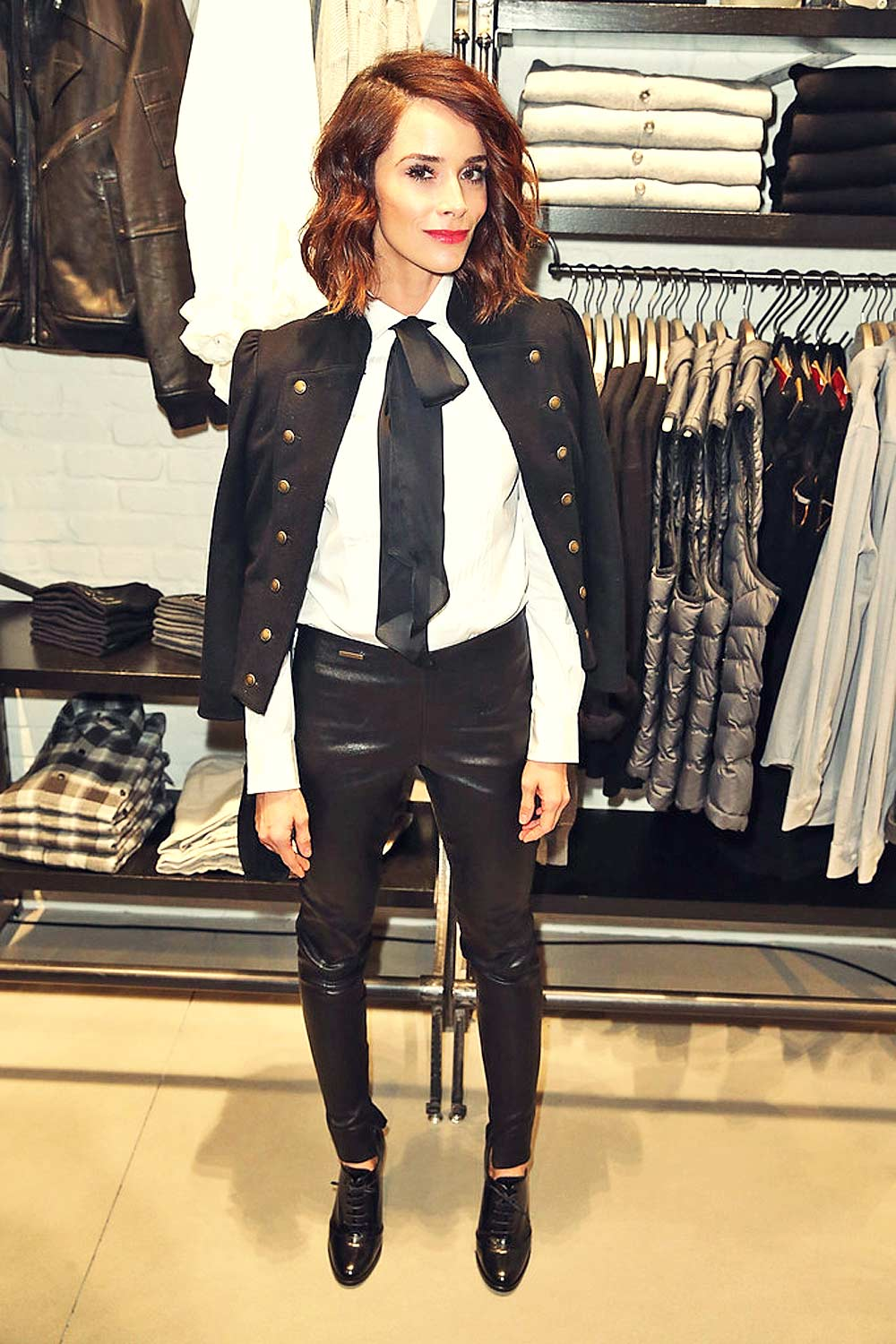 Abigail Spencer attends the POLO Ralph Lauren + Athlete Ally Event