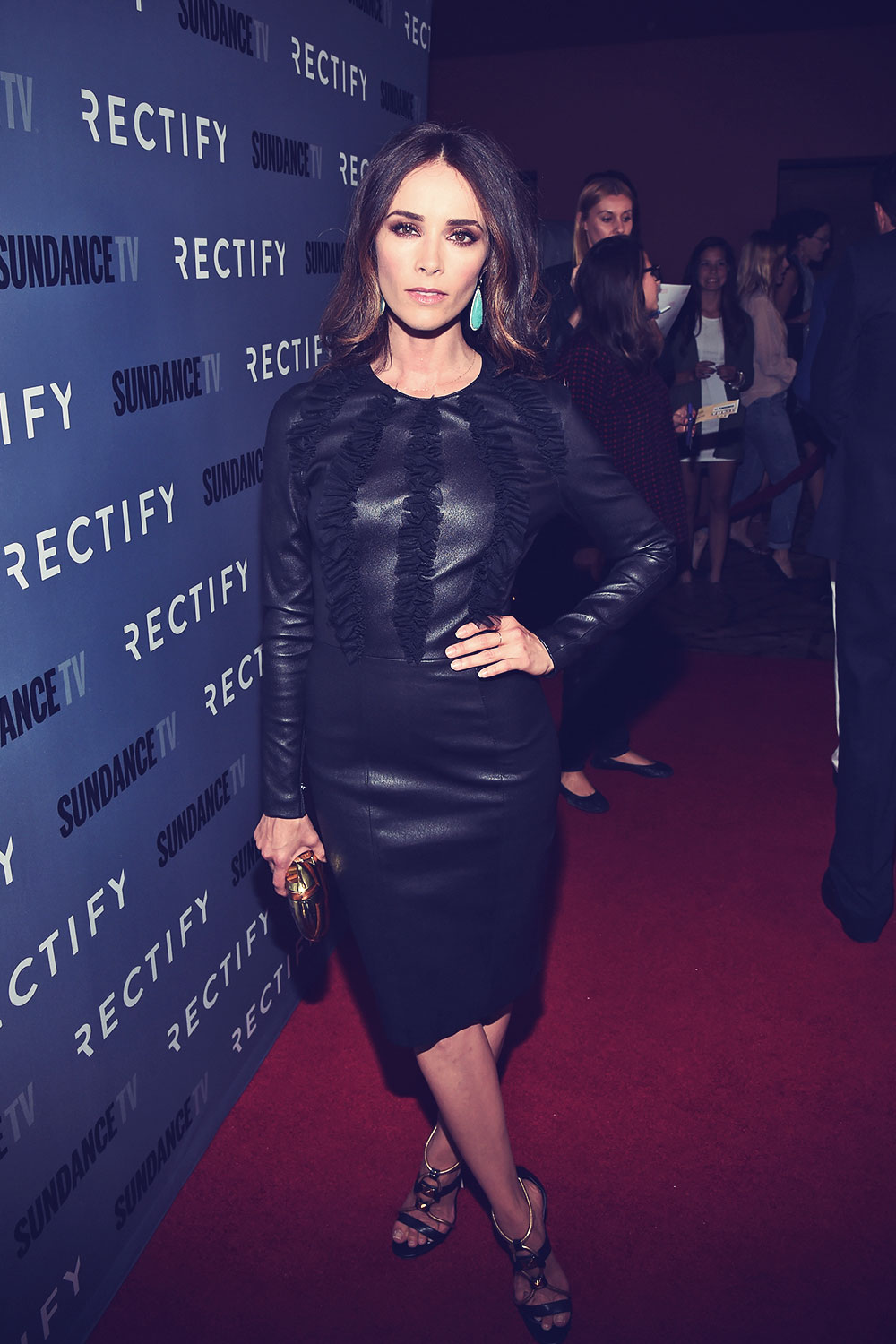 Abigail Spencer attends Rectify Season 2 Premiere